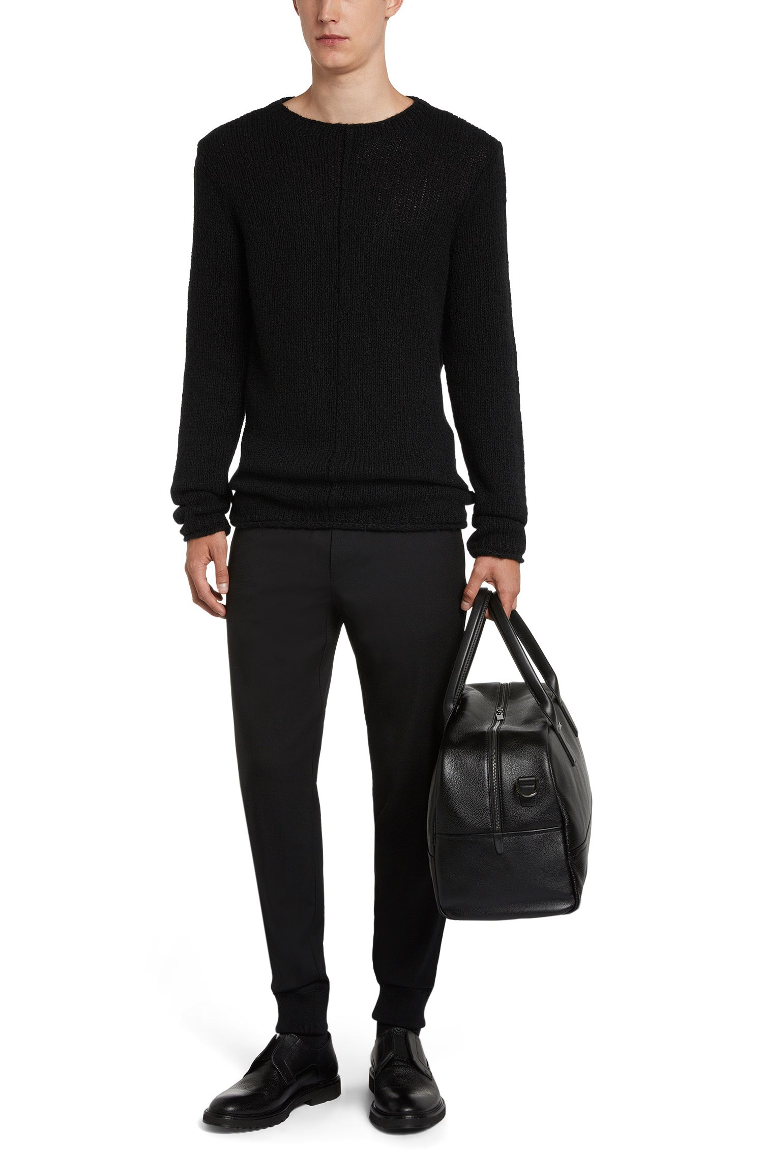 Loose-Fit Pullover aus Woll-Mix mit Mohair: 'Sward'