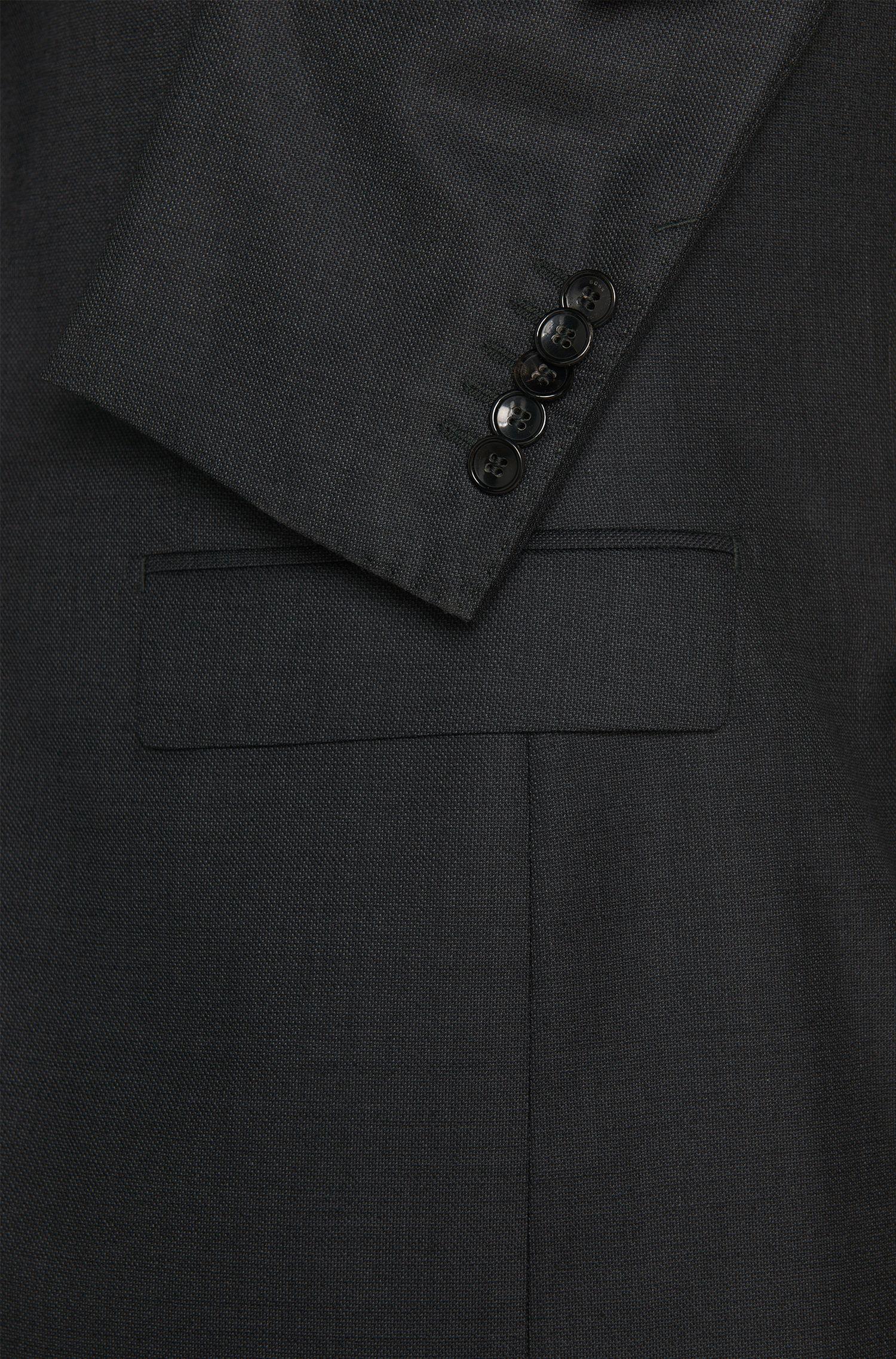 Regular-Fit Tailored Anzug aus Schurwoll-Mix mit Seide: 'T-Howard/Court5'