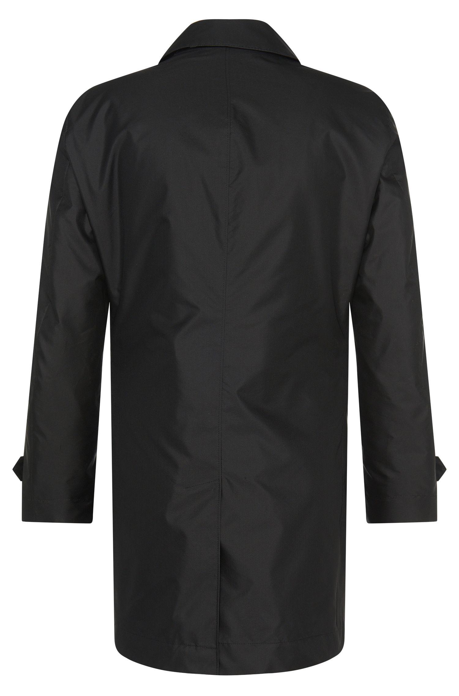 Manteau en tissu imperméable à teneur en soie: «Garret1»