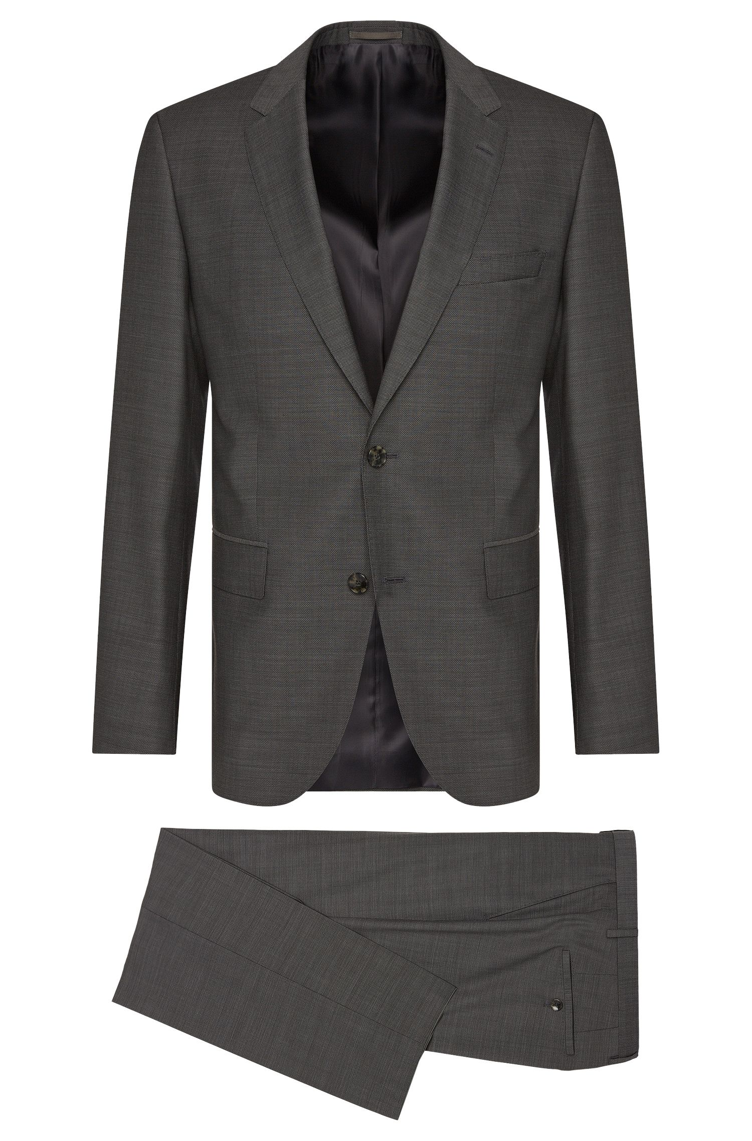 Regular-fit suit in new wool: 'Johnstons1/Lenon'