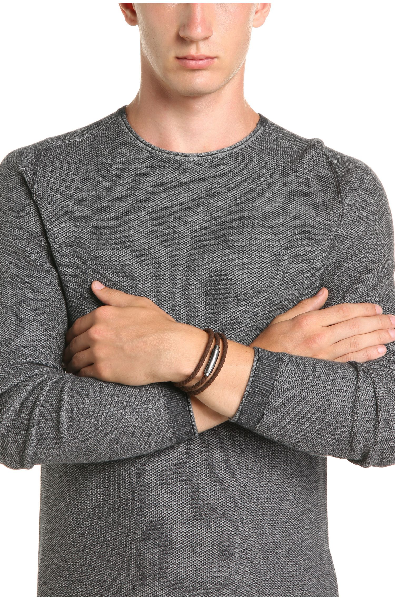 Le bracelet tressé enroulé à fermoir magnétique: «Murdock»