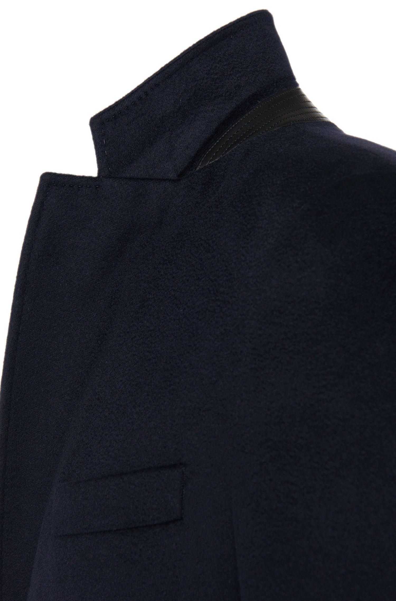 Tailored Mantel mit heraustrennbarer Jacke aus Schurwoll-Mix mit Kaschmir: 'T-Lennard2'