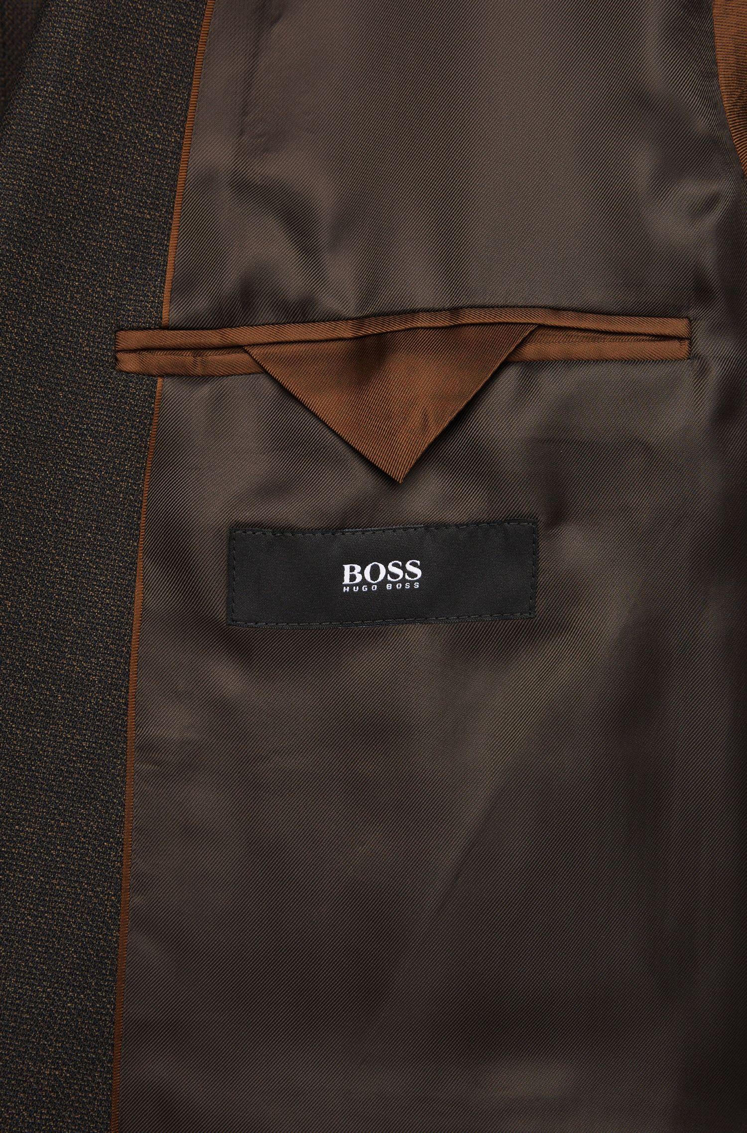 Regular-Fit Anzug aus Schurwolle: 'Johnstons1/Lenon'