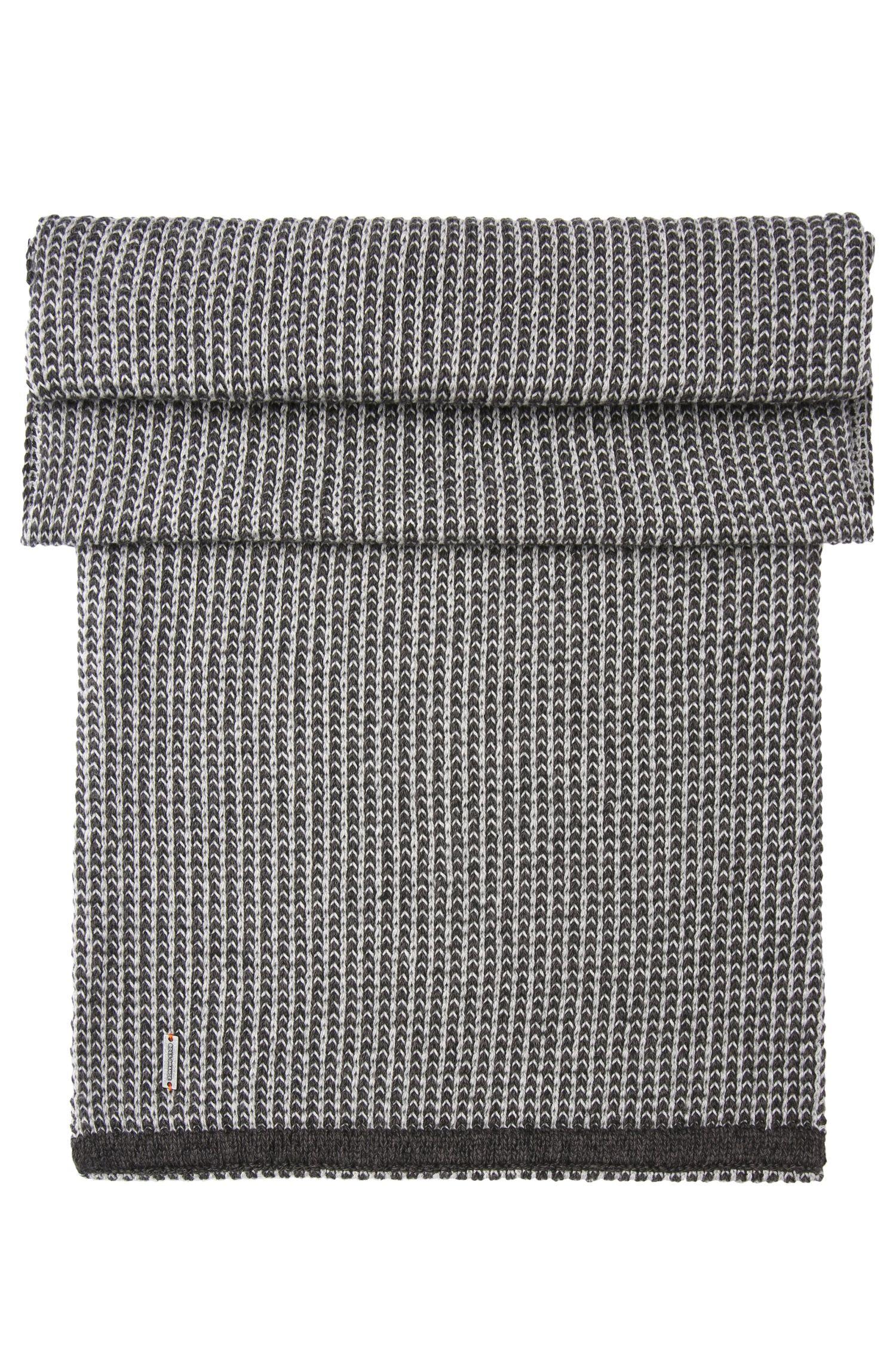 Sciarpa ad anello in maglia in cotone: 'Kerus'
