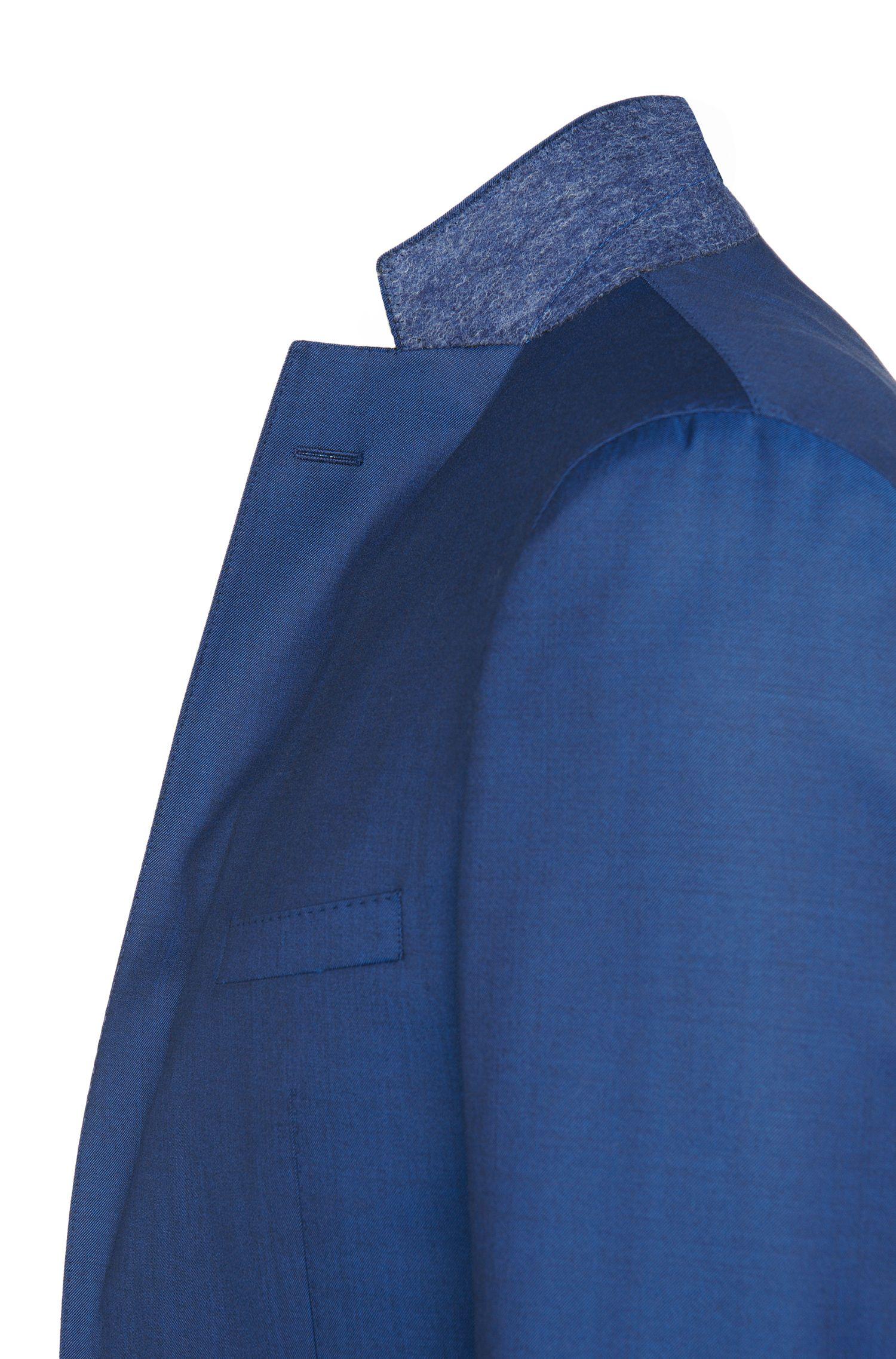 Costume extra Slim Fit en pure laine vierge: «Reyno2/Wave1»