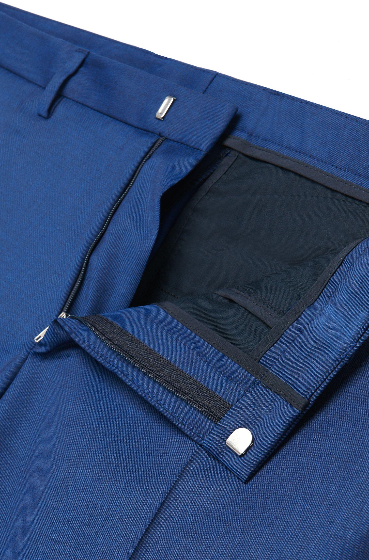 Extra Slim-Fit Anzug aus reiner Schurwolle: 'Reyno2/Wave1'