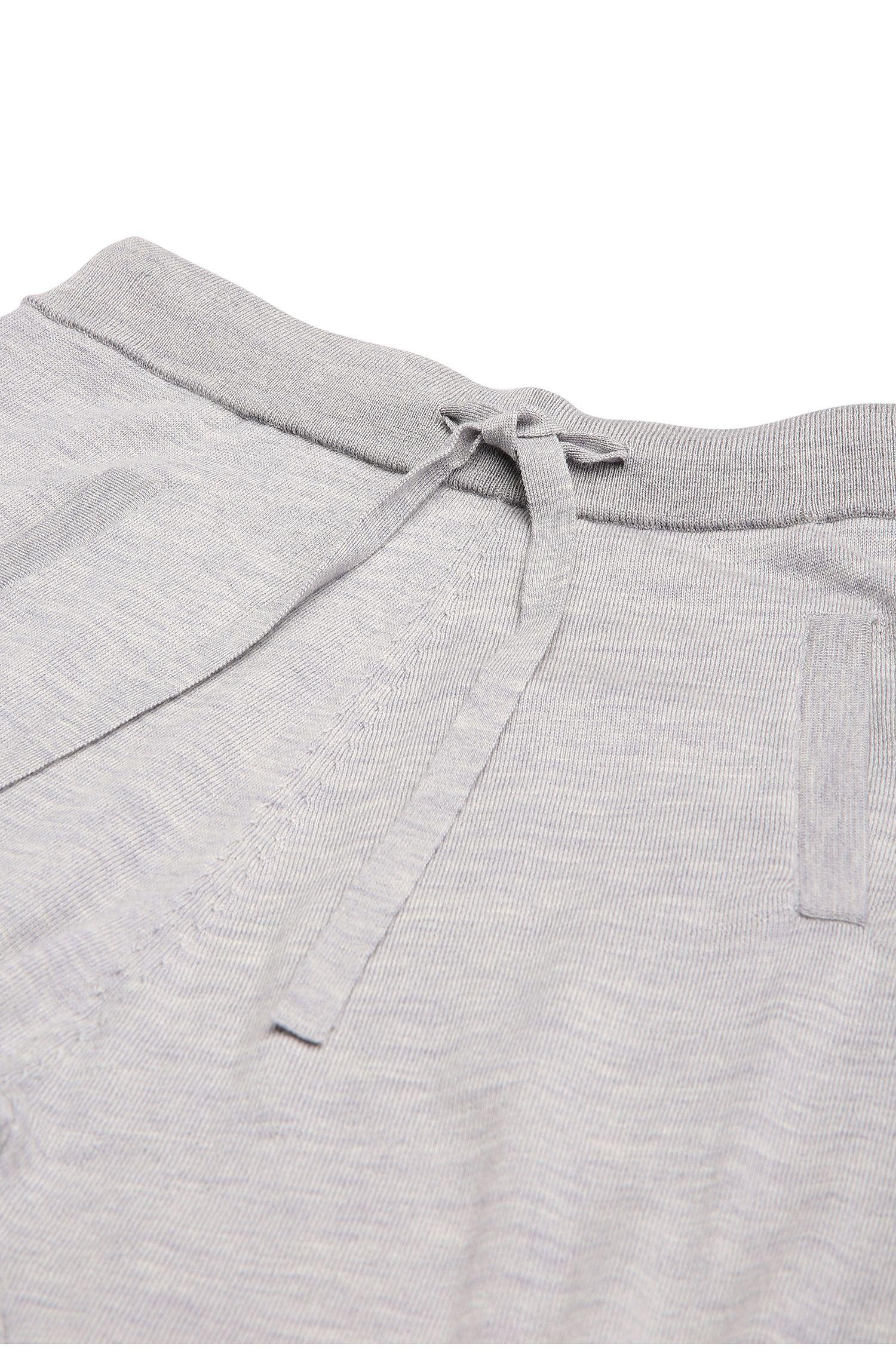 Strickhose aus reiner Schurwolle im Jogginghosen-Look: ´Ipants`