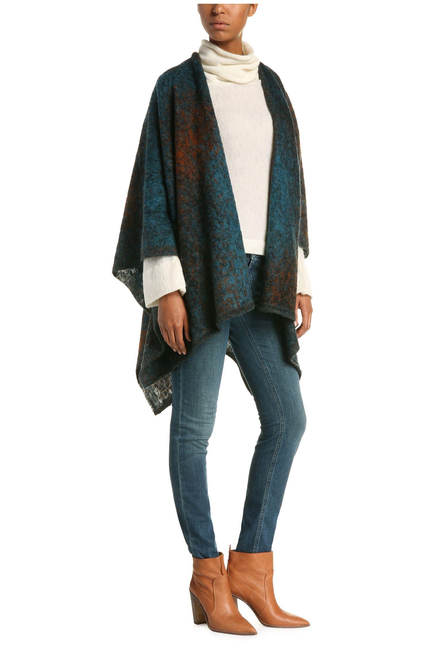 Pull en maille Slim Fit en alpaga mélangée à de la laine: «Wilitas»