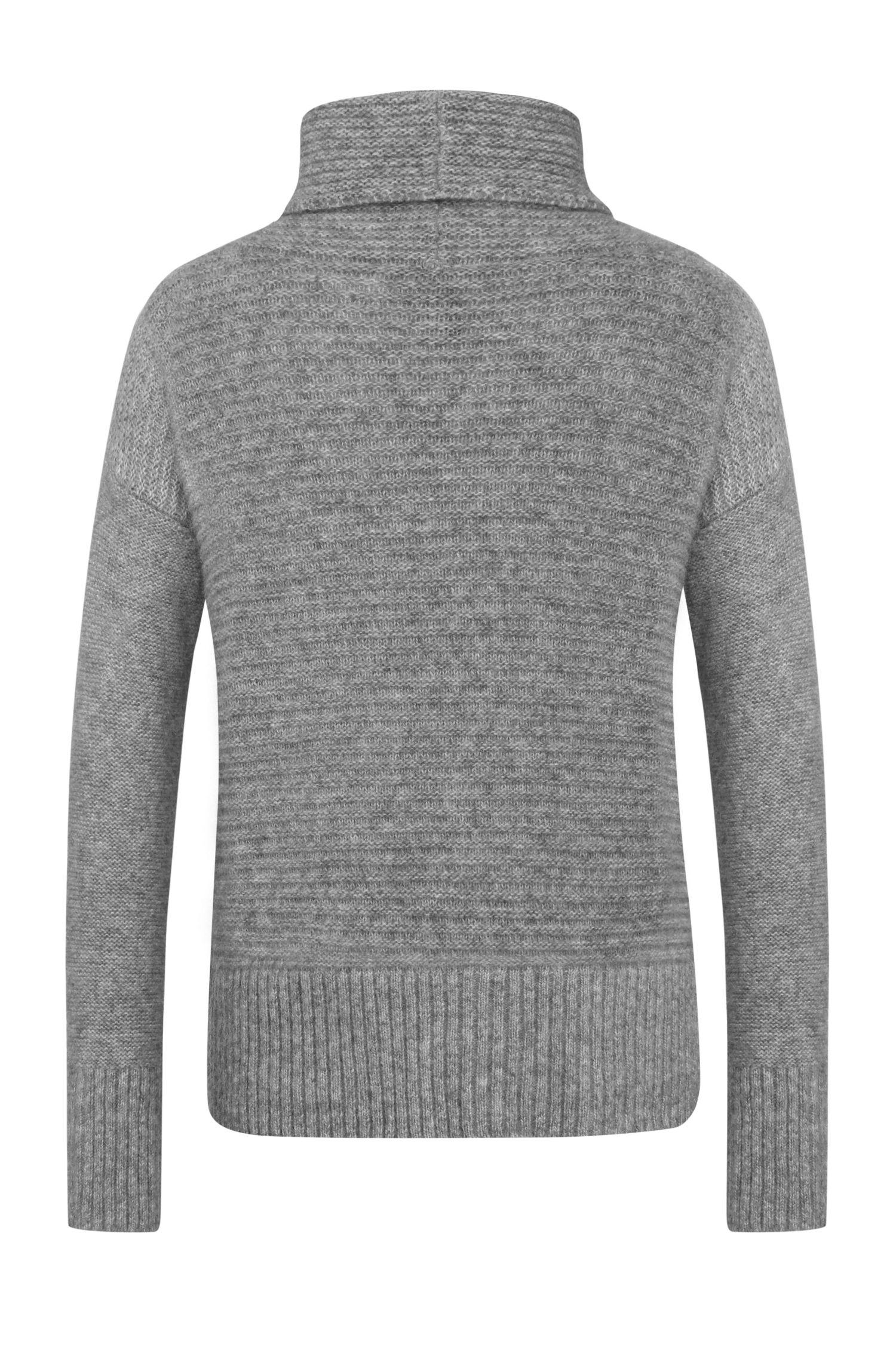 Pull Regular Fit en matière mélangée à de l'alpaga et de la laine: «Wilke»