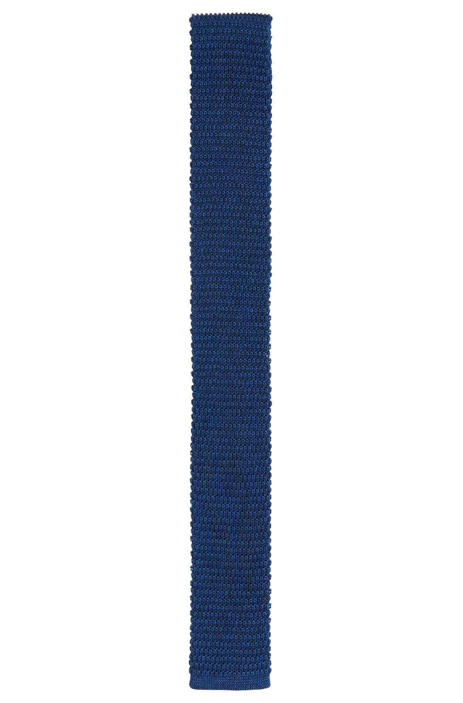Strick-Krawatte aus Seide: 'Tie 5 cm knitted'