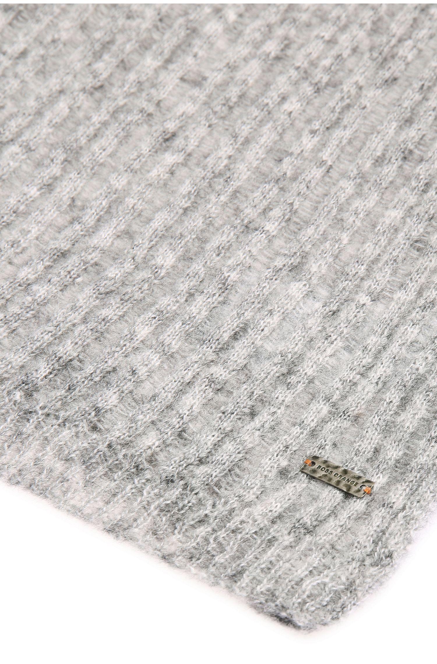 Melierter Strickschal aus Alpaka-Mix mit Wolle: ´Ivlina`