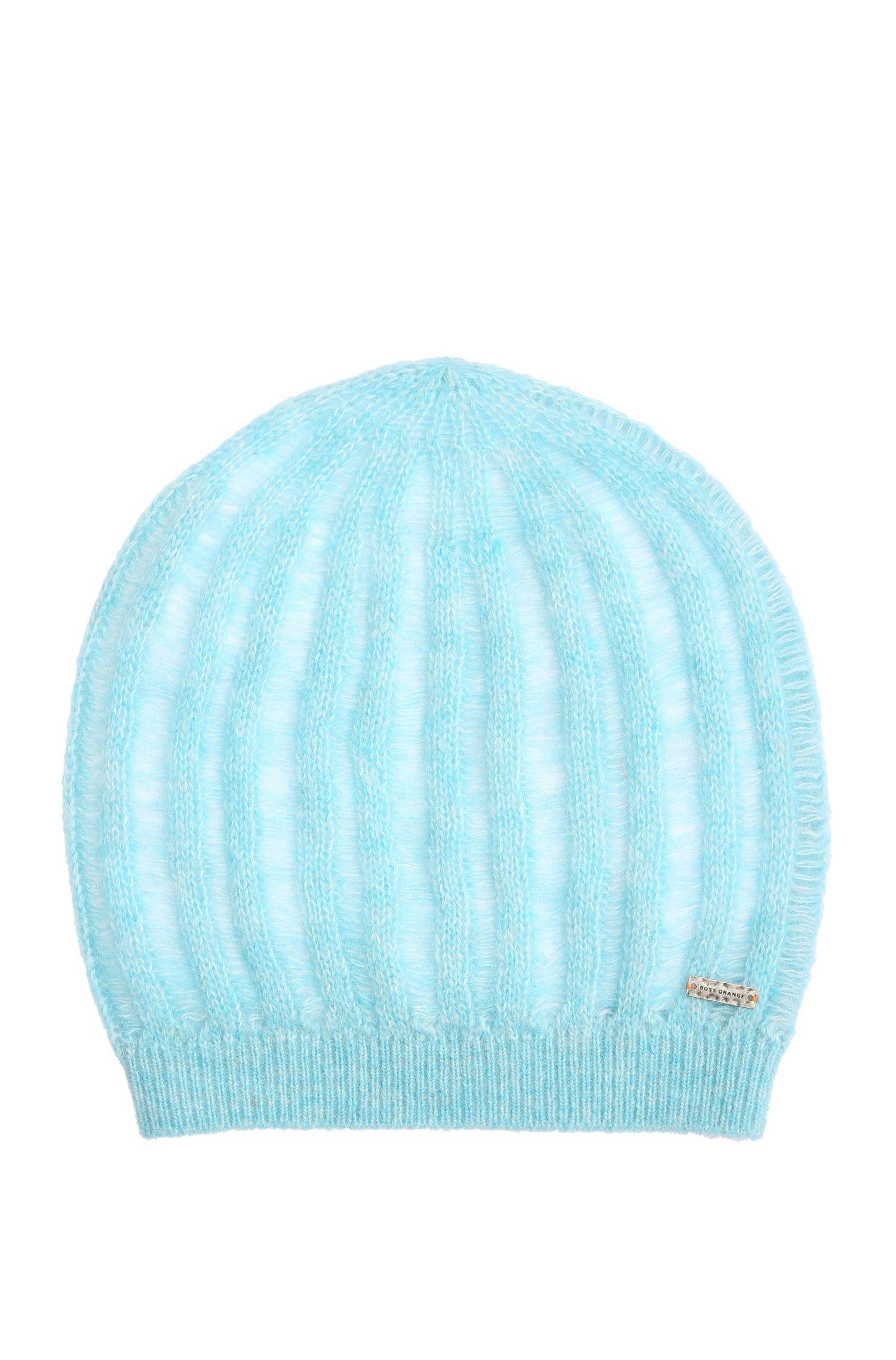 Mütze aus Alpaka-Mix mit Wolle: ´Ivlisca`