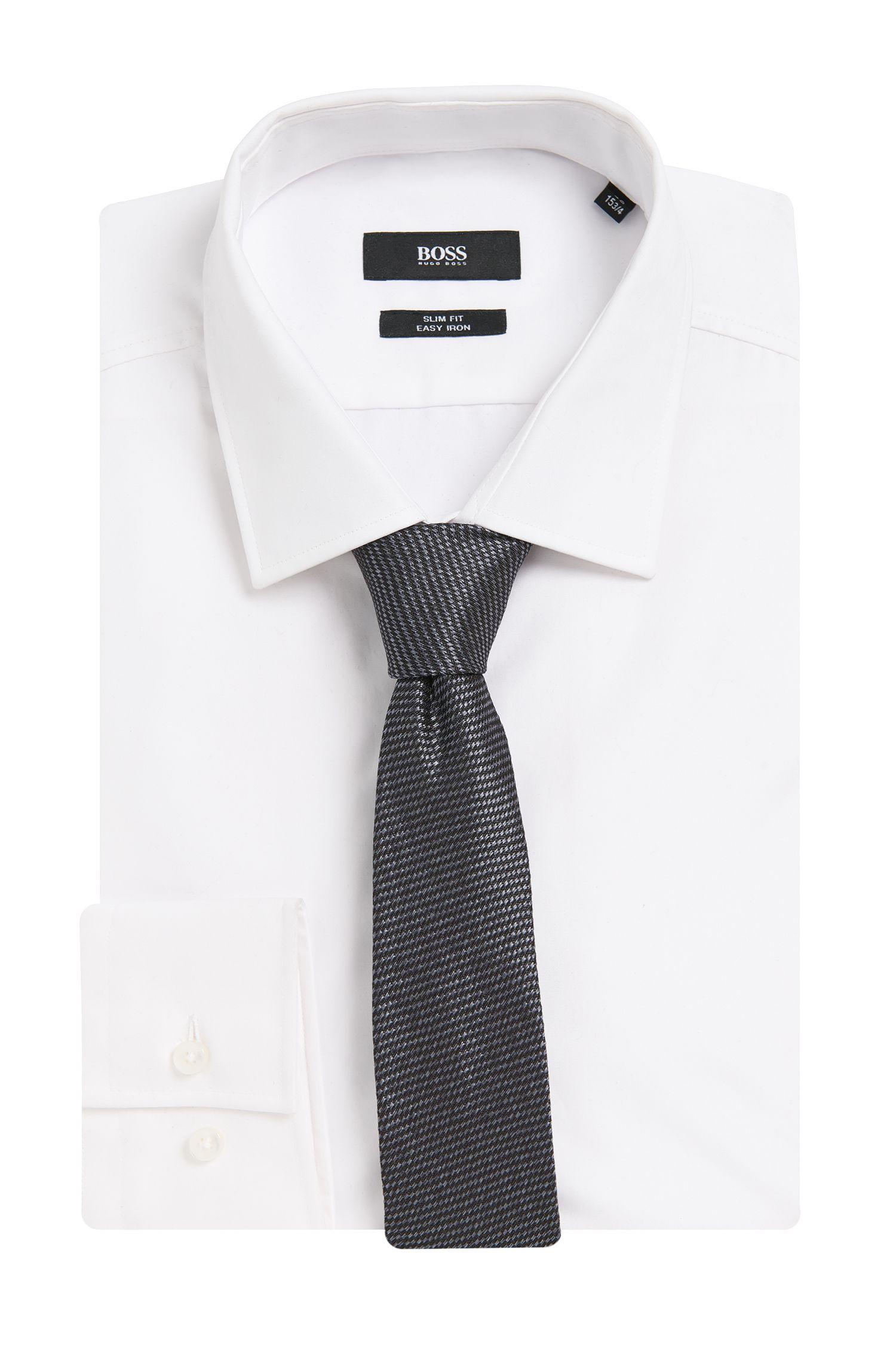 Cravate en soie à motif intégral: «Tie6cm»