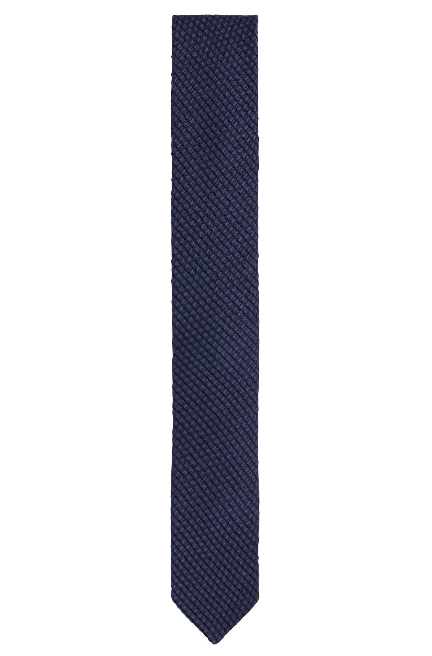 Stropdas van een katoenmix met zijde: 'Tie 6 cm'