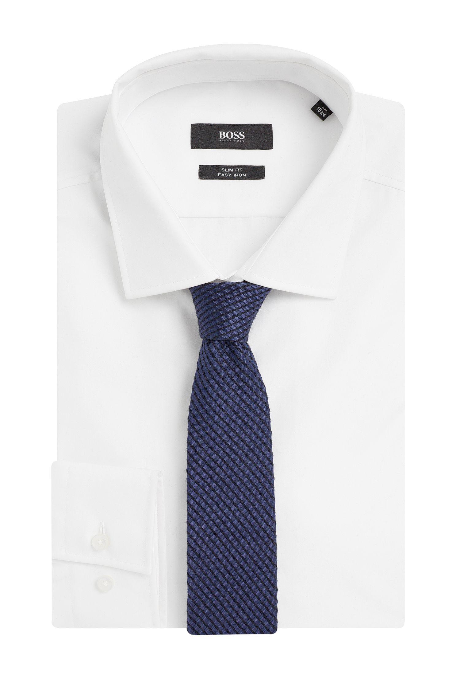 Krawatte aus Baumwoll-Mix mit Seide: 'Tie 6 cm'