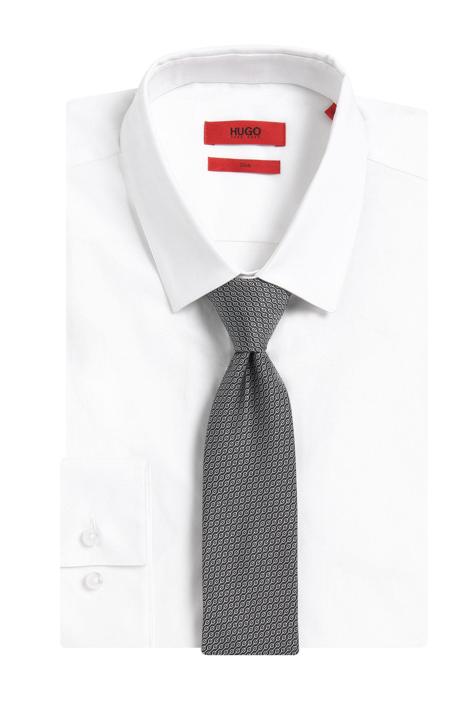 Cravate en pure soie à motif: «Tie 6 cm»