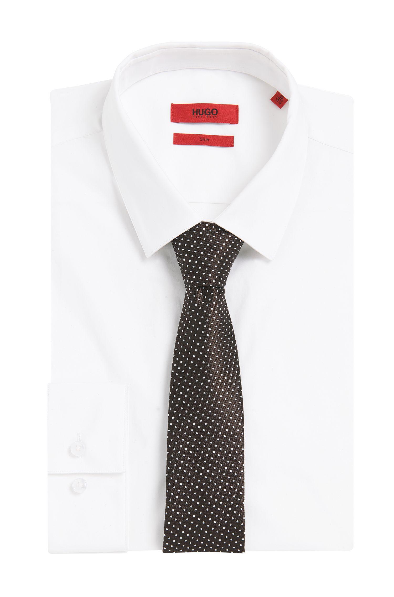 Krawatte aus Seide mit Allover-Muster: 'Tie cm 7'