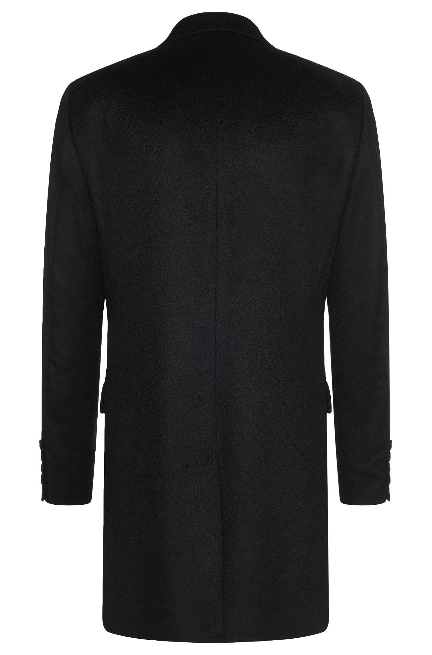 Regular-Fit Tailored Mantel aus Kaschmir: 'T-Neon1'