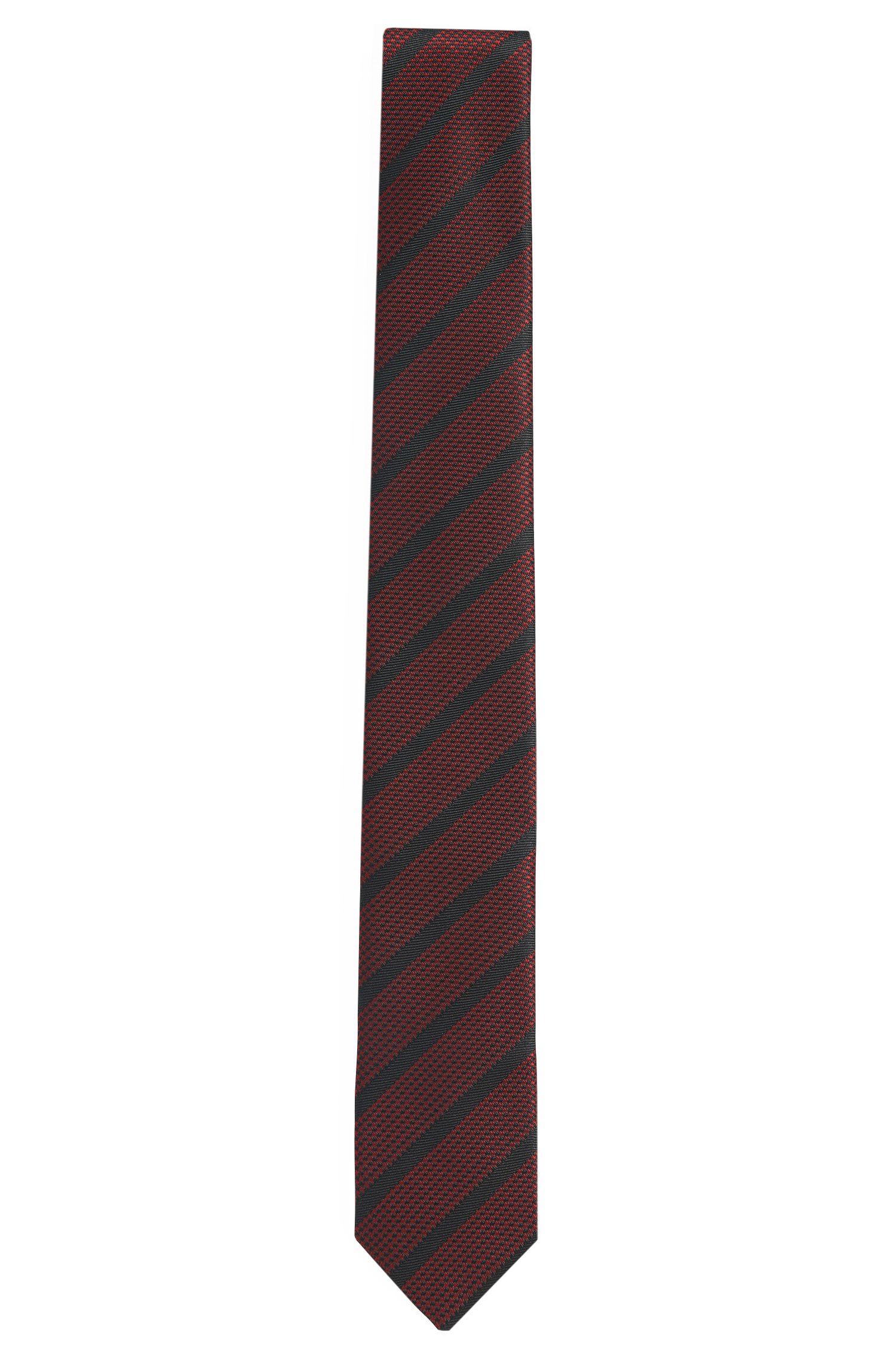 Gestreifte Krawatte aus Seide: 'Tie cm 6'