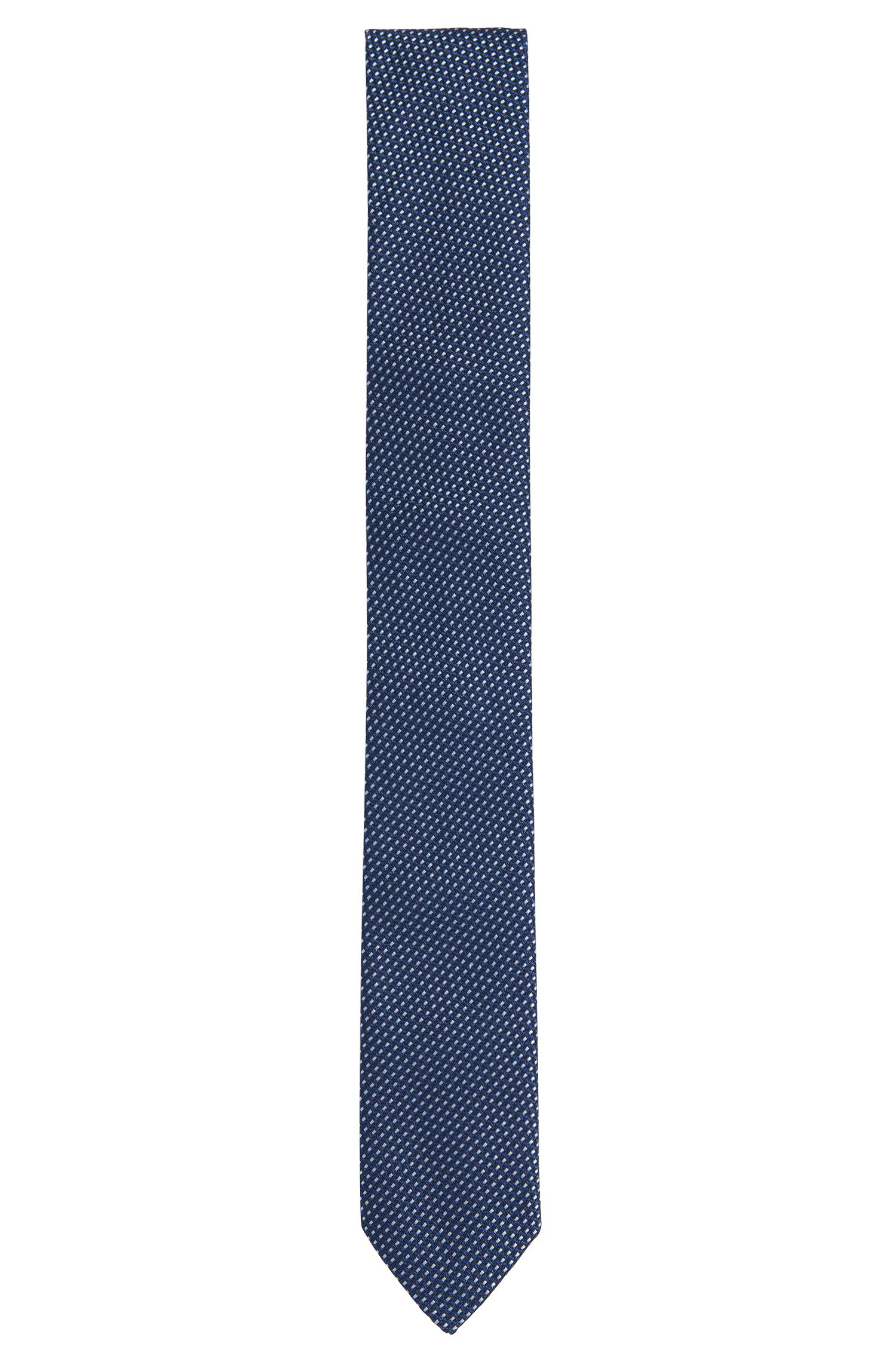 Patterned silk tie: 'Tie cm 6'