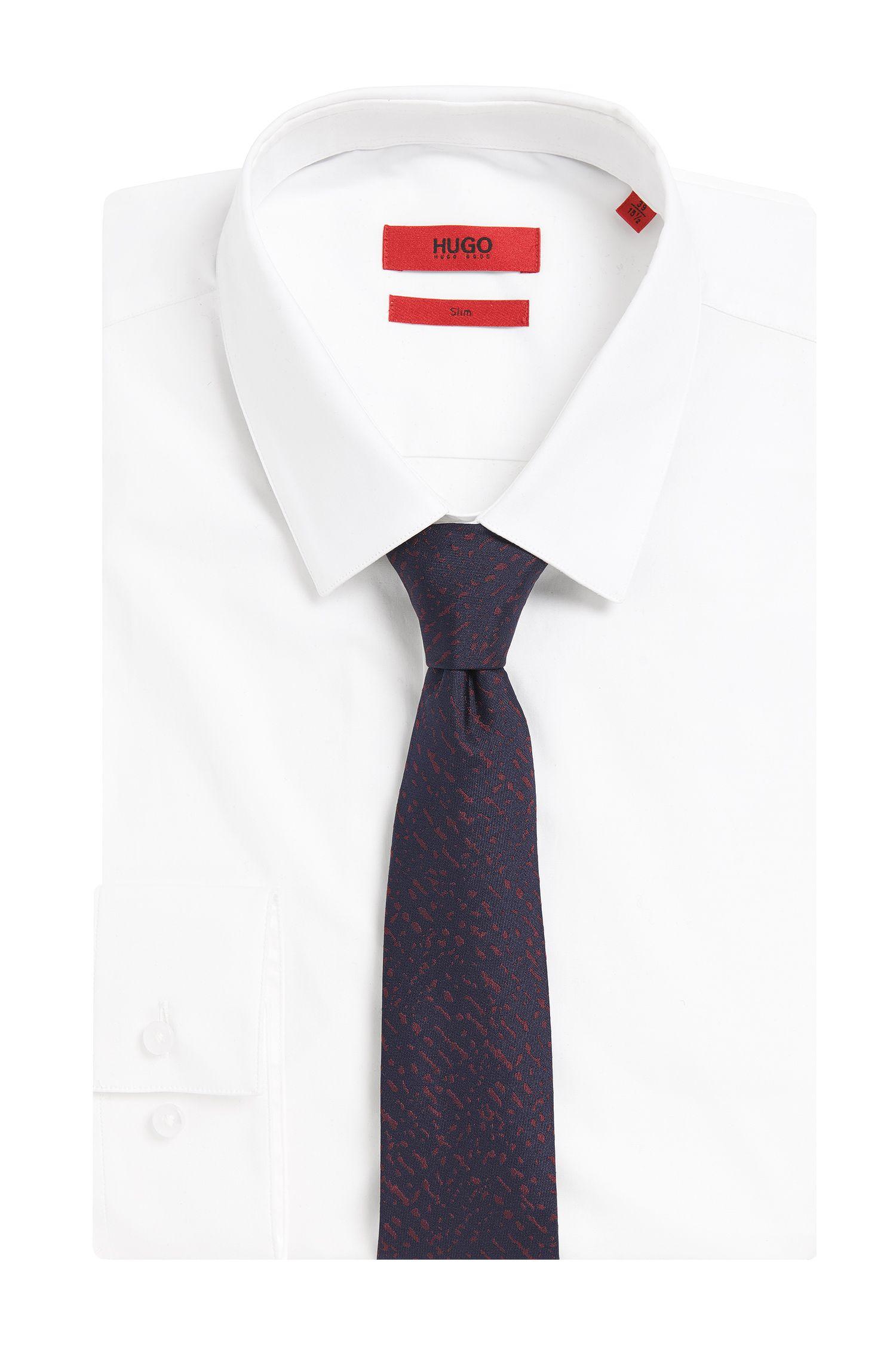 Krawatte aus Seide mit Allover-Muster: 'Tie cm 6'