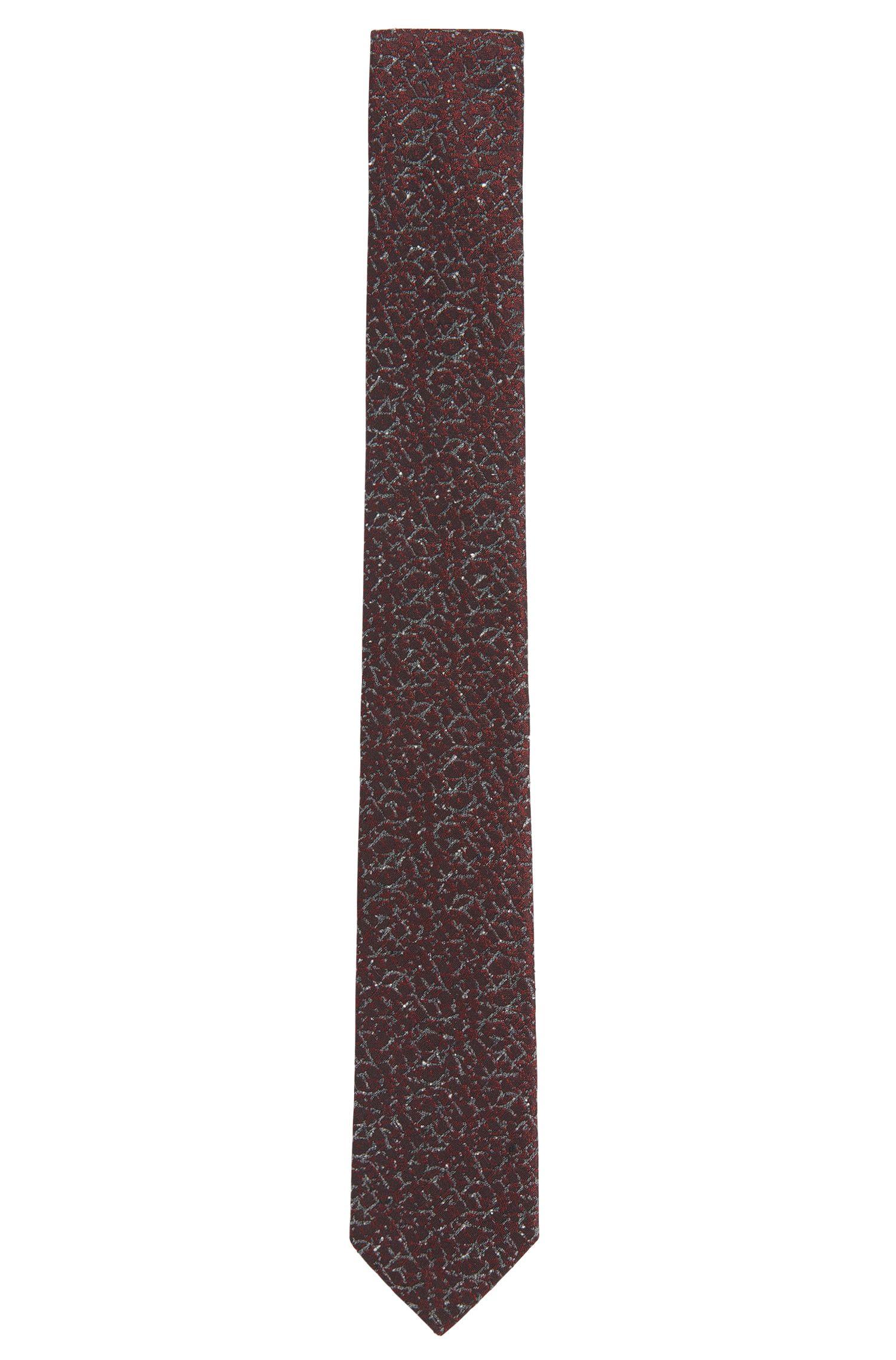 Cravate à motif en soie mélangée: «Tie cm 6»
