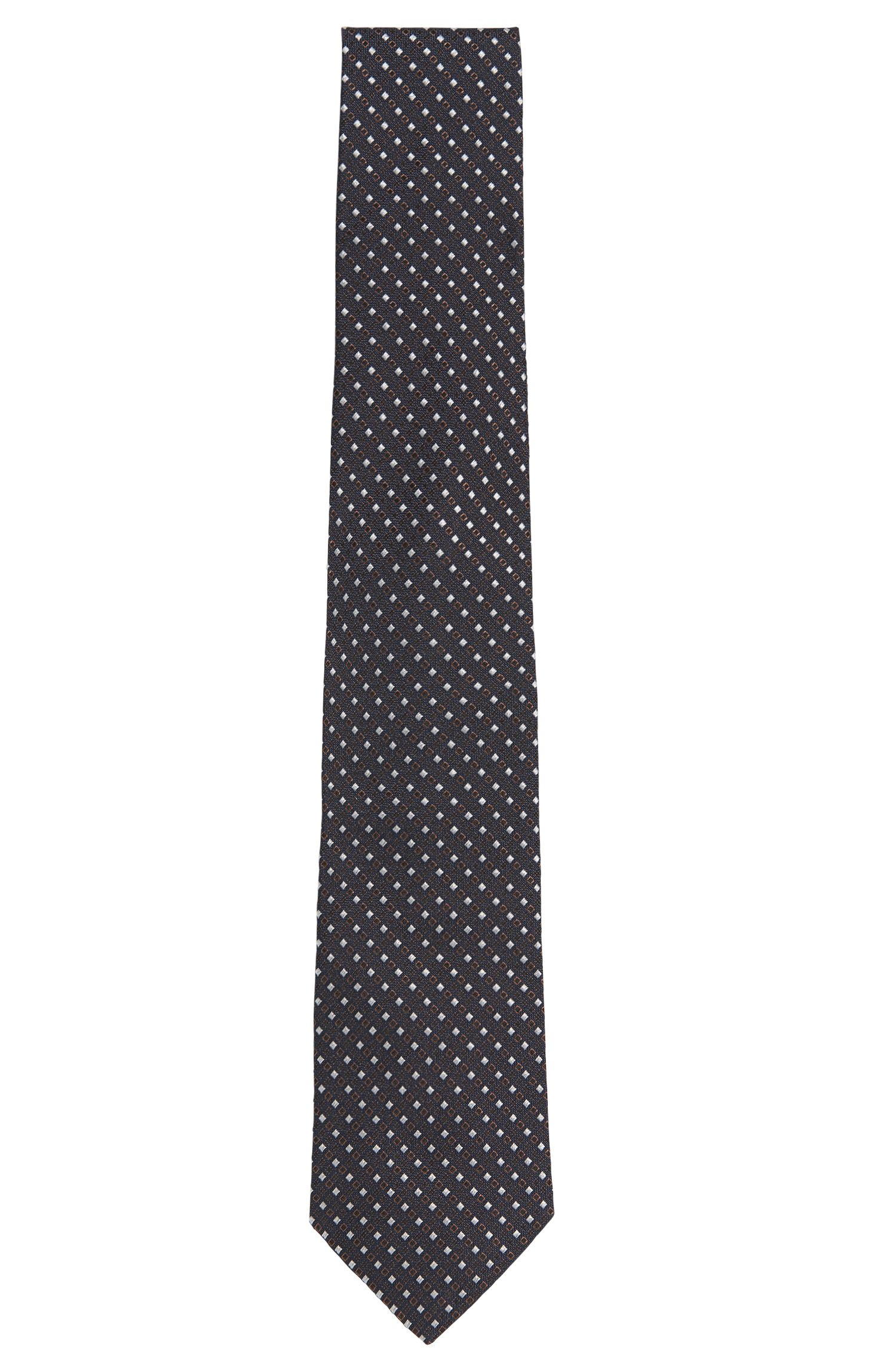 Patterned Tailored pure silk tie: 'Tie 7.5 cm'