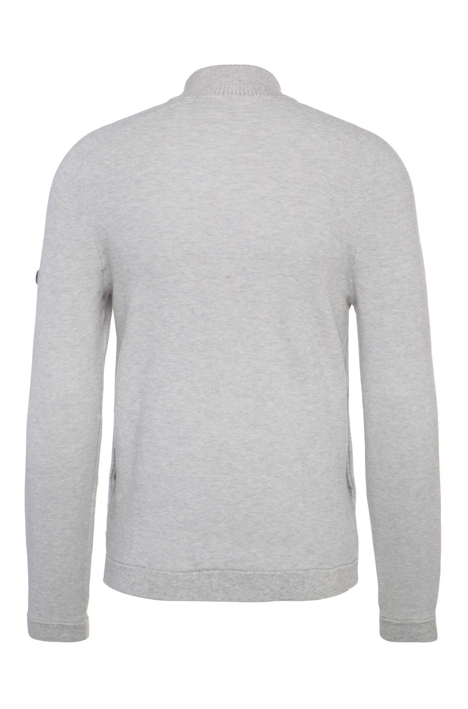 Regular-Fit Sweatshirt-Jacke aus Baumwoll-Mix: ´Byne`