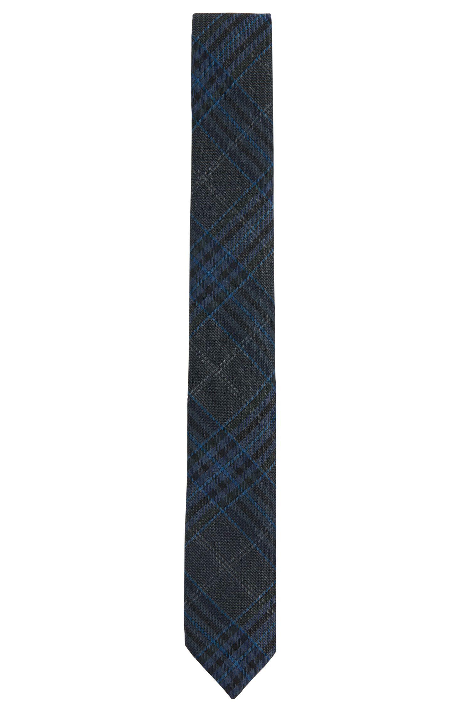 Stropdas van scheerwol met tartandessin: 'Tie cm 6'