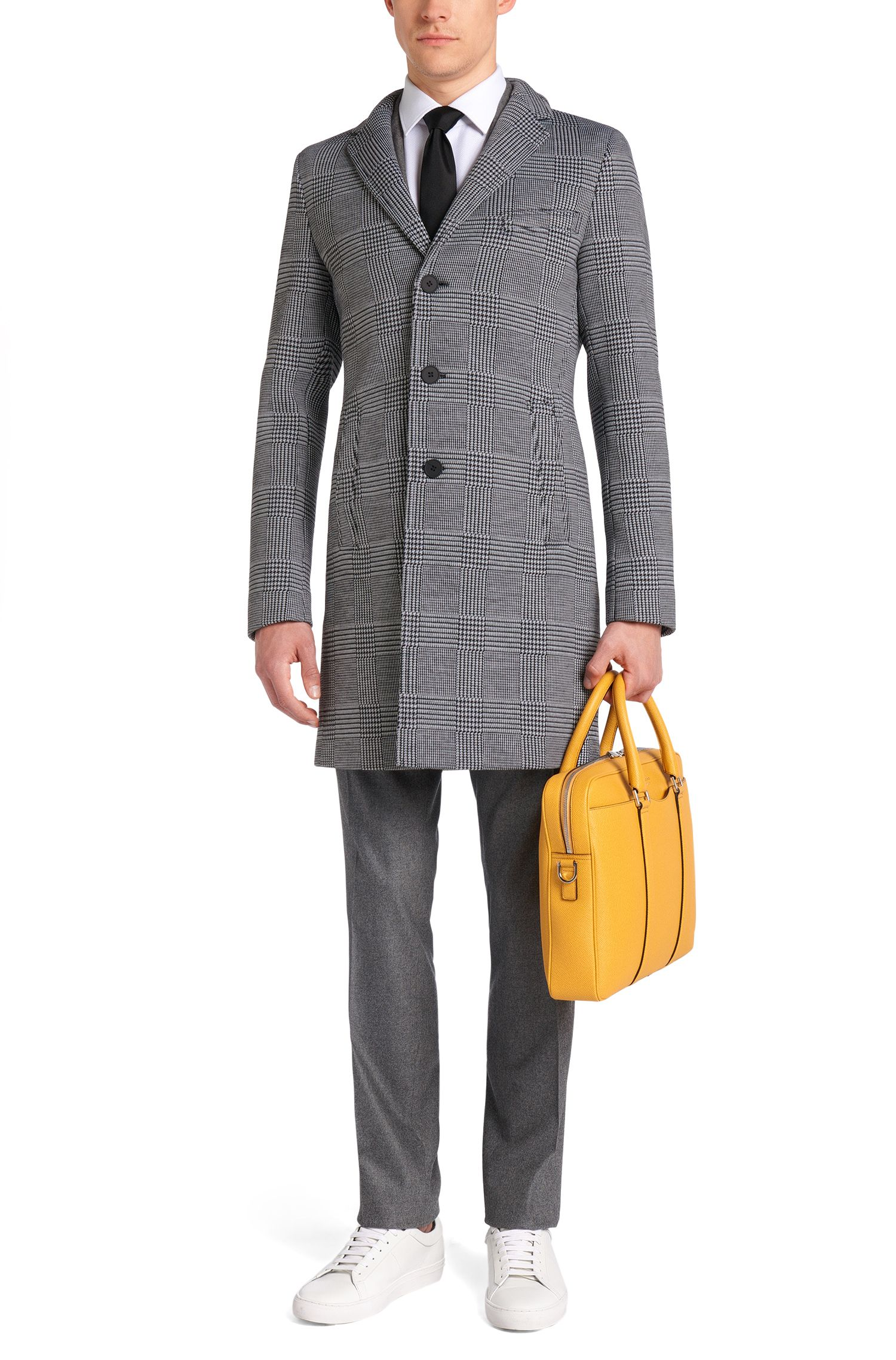 Mantel mit Glencheck-Muster: 'Shawn2'