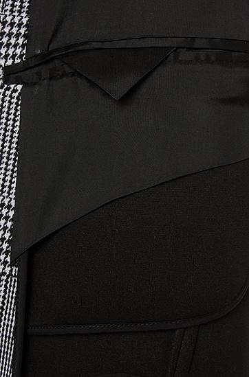 Mantel mit Glencheck-Muster: 'Shawn2', Anthrazit