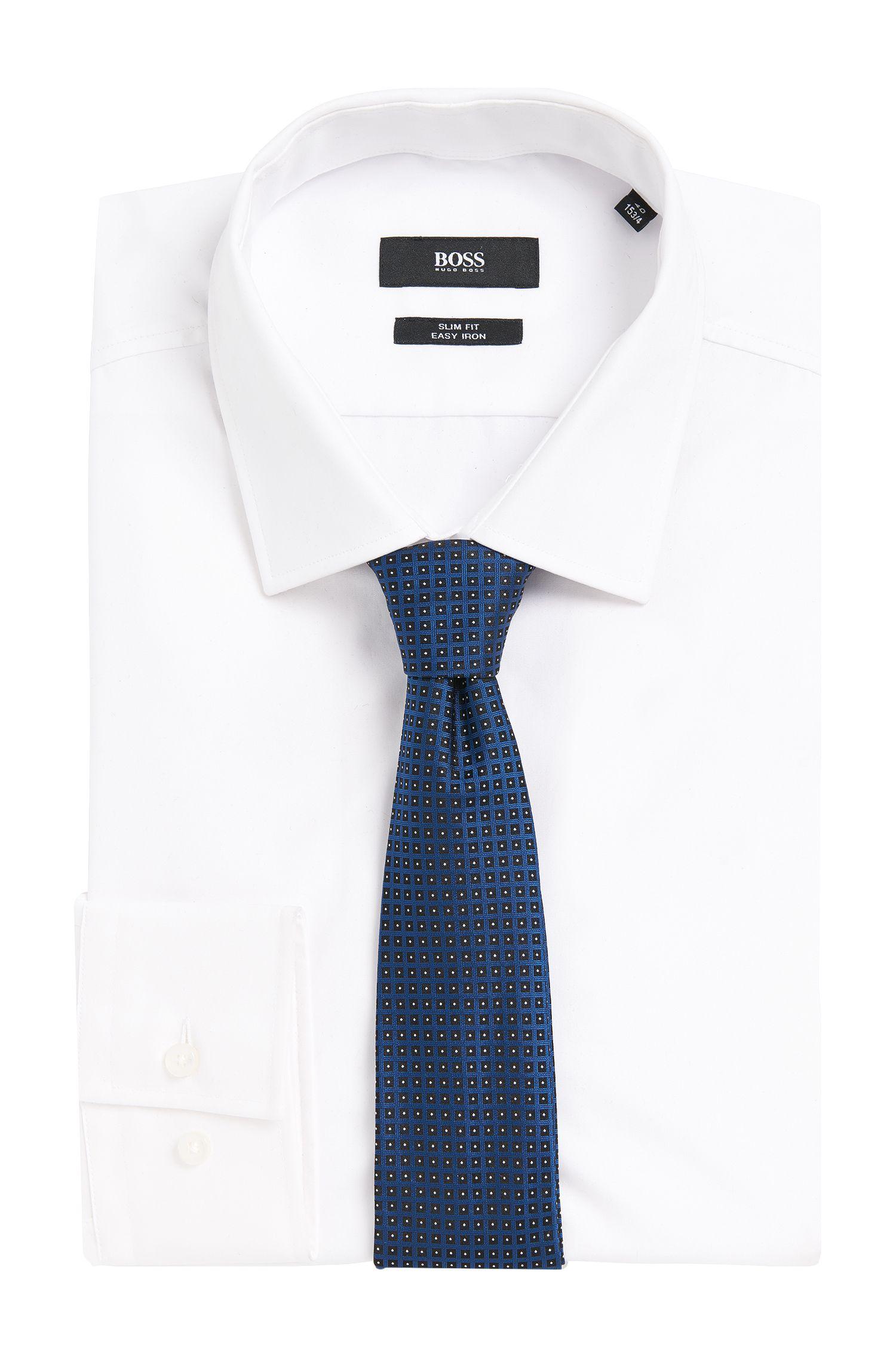Cravate en pure soie Tailored à motif: «T-Tie6cm»