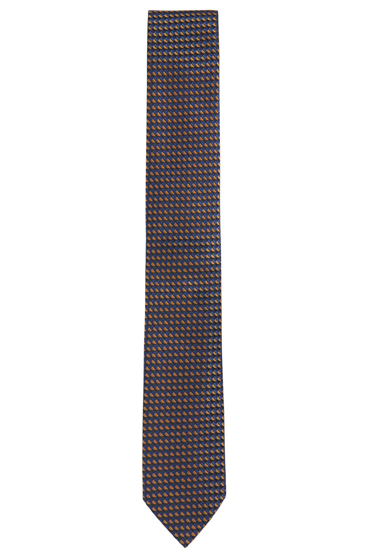 Krawatte aus Seide mit Grafik-Muster: 'Tie cm 7'