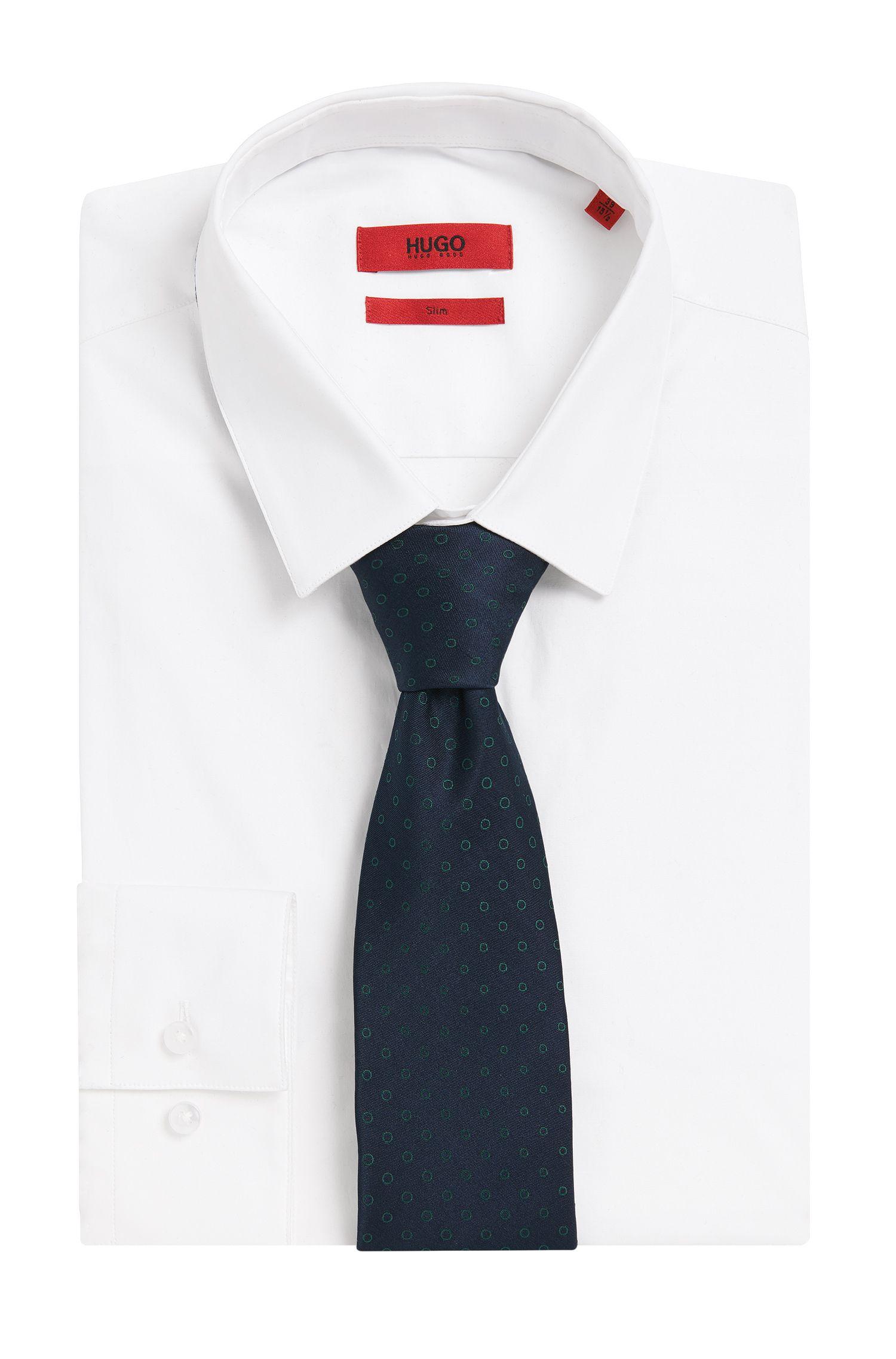 Cravate en pure soie à pois: «Tie cm7»