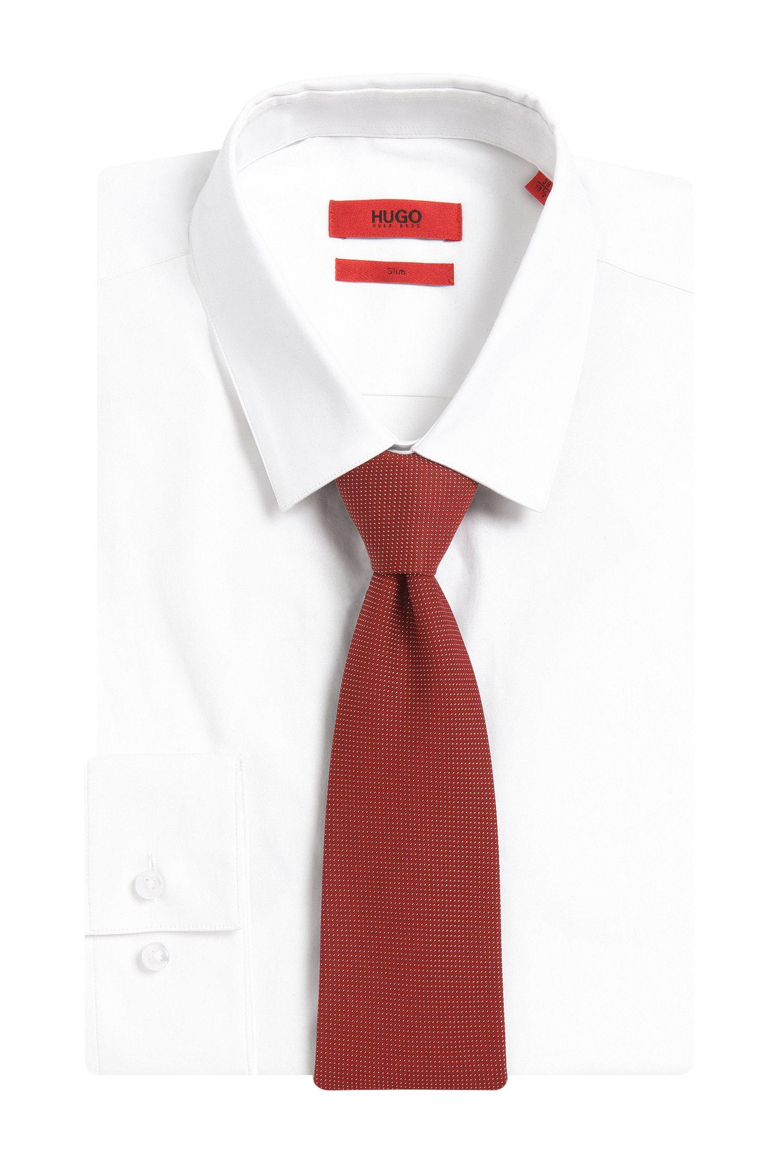 Krawatte aus Seide mit Muster: 'Tie cm 7'