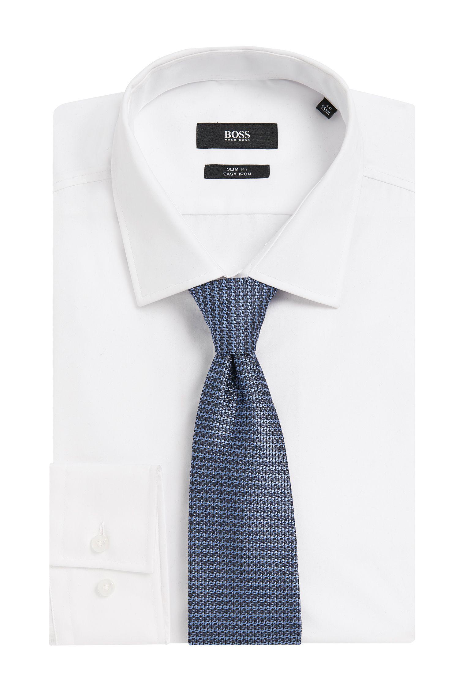 Cravate en soie à motif, aux couleurs harmonieuses: «Tie cm 7»