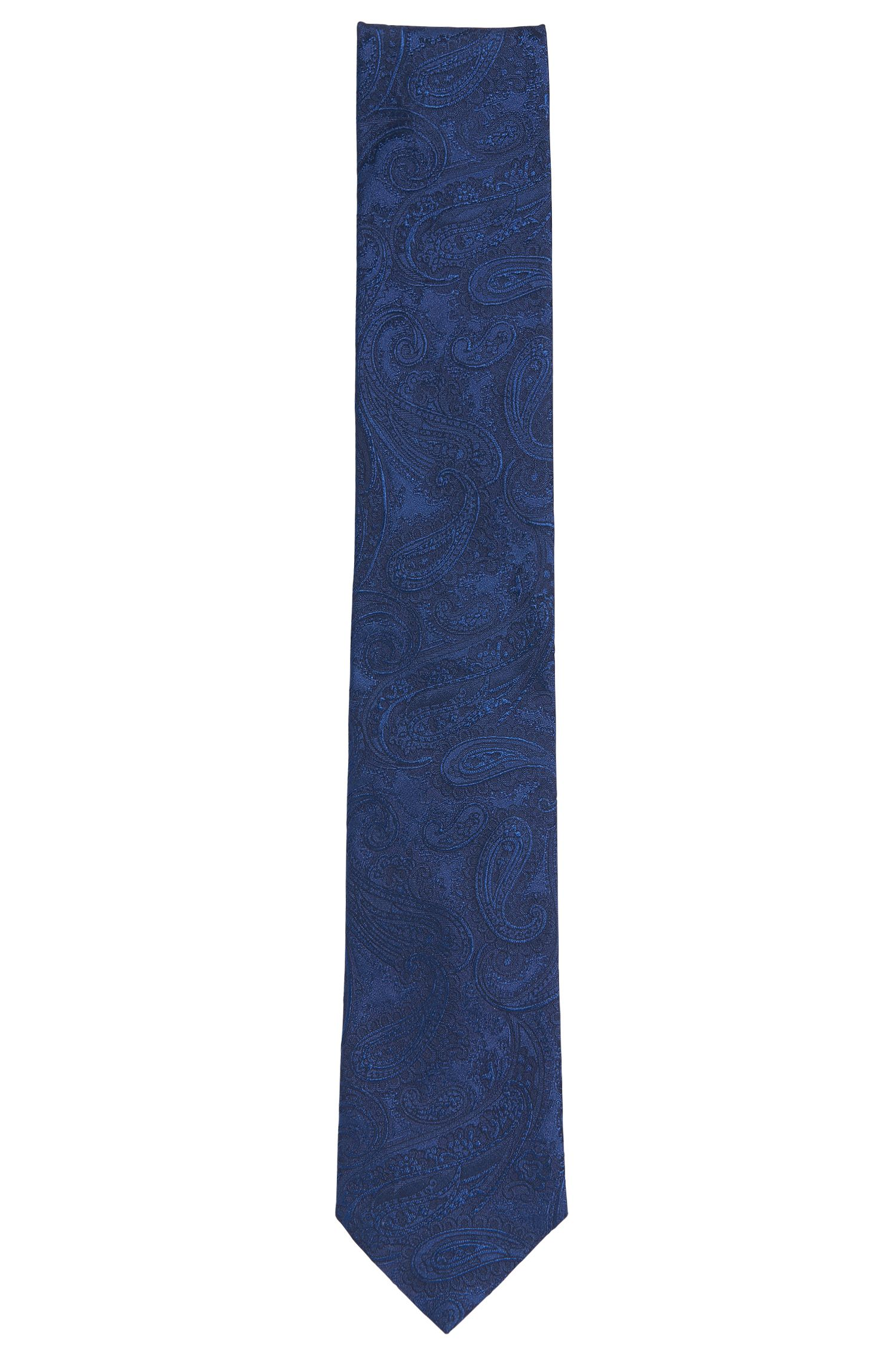 Seidenkrawatte mit Paisely-Muster: 'Tie cm 7'