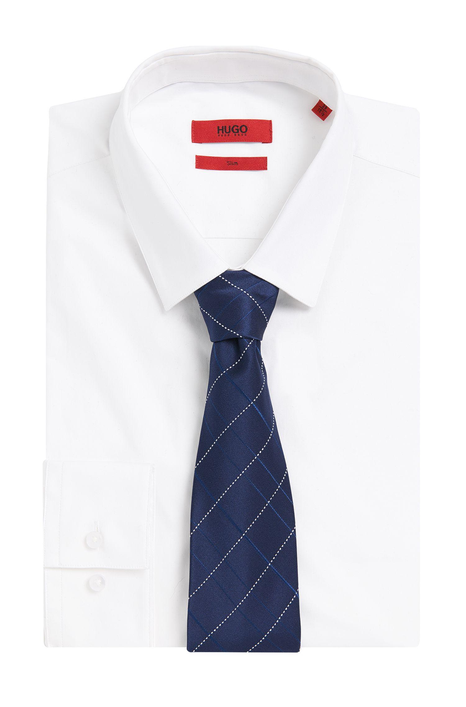 Cravate en pure soie à motif: «Tie7cm»
