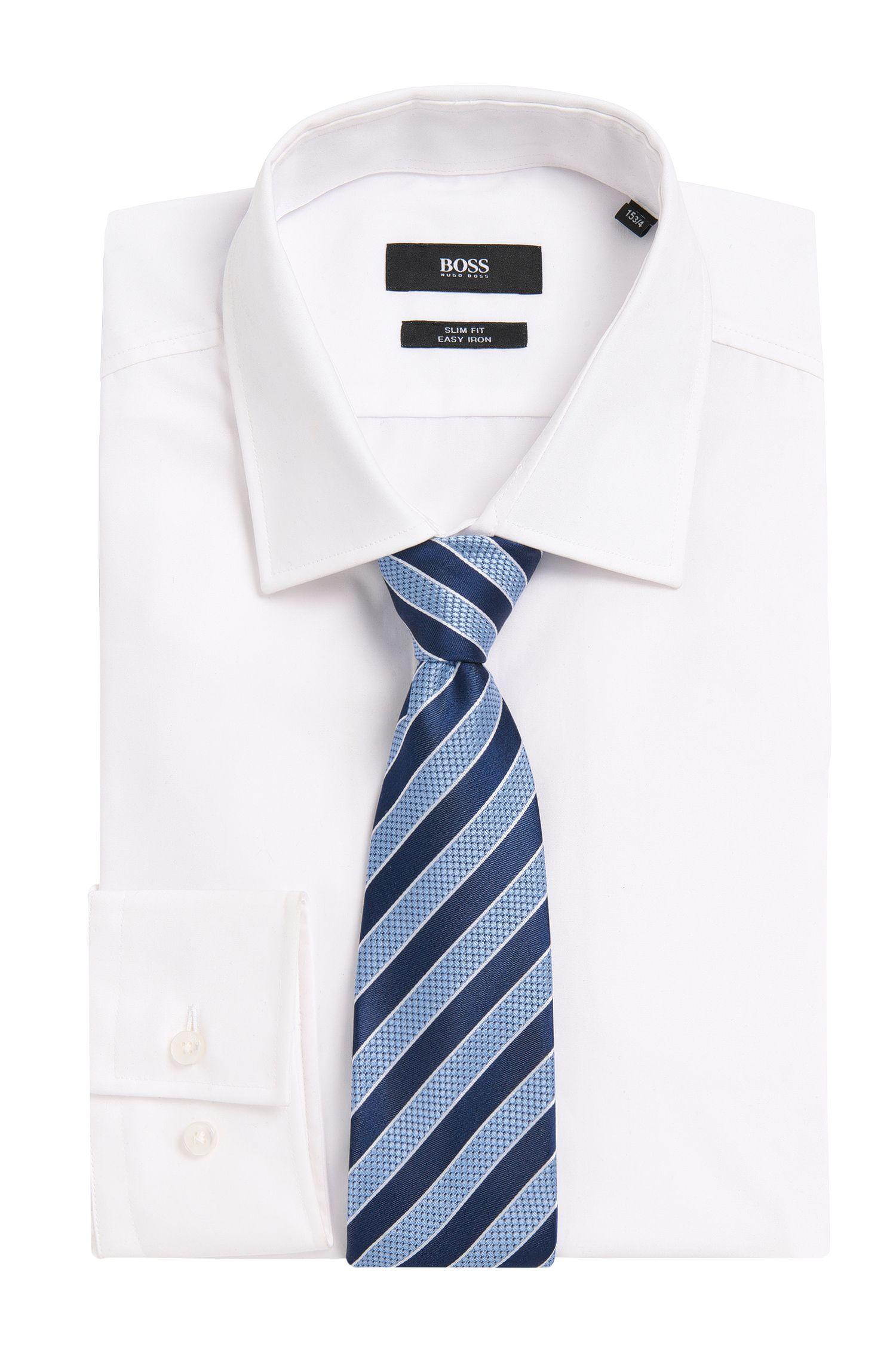 Cravate en soie à rayures: «Tie7,5cm»