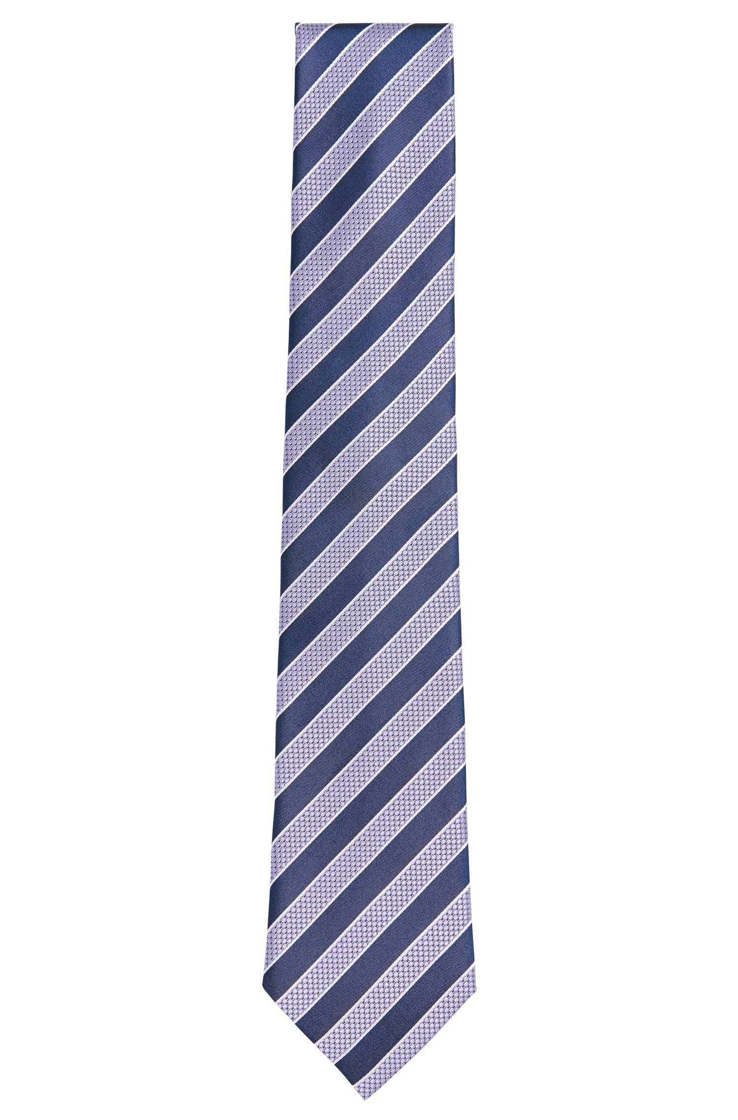 Gestreifte Krawatte aus Seide: 'Tie 7,5 cm'