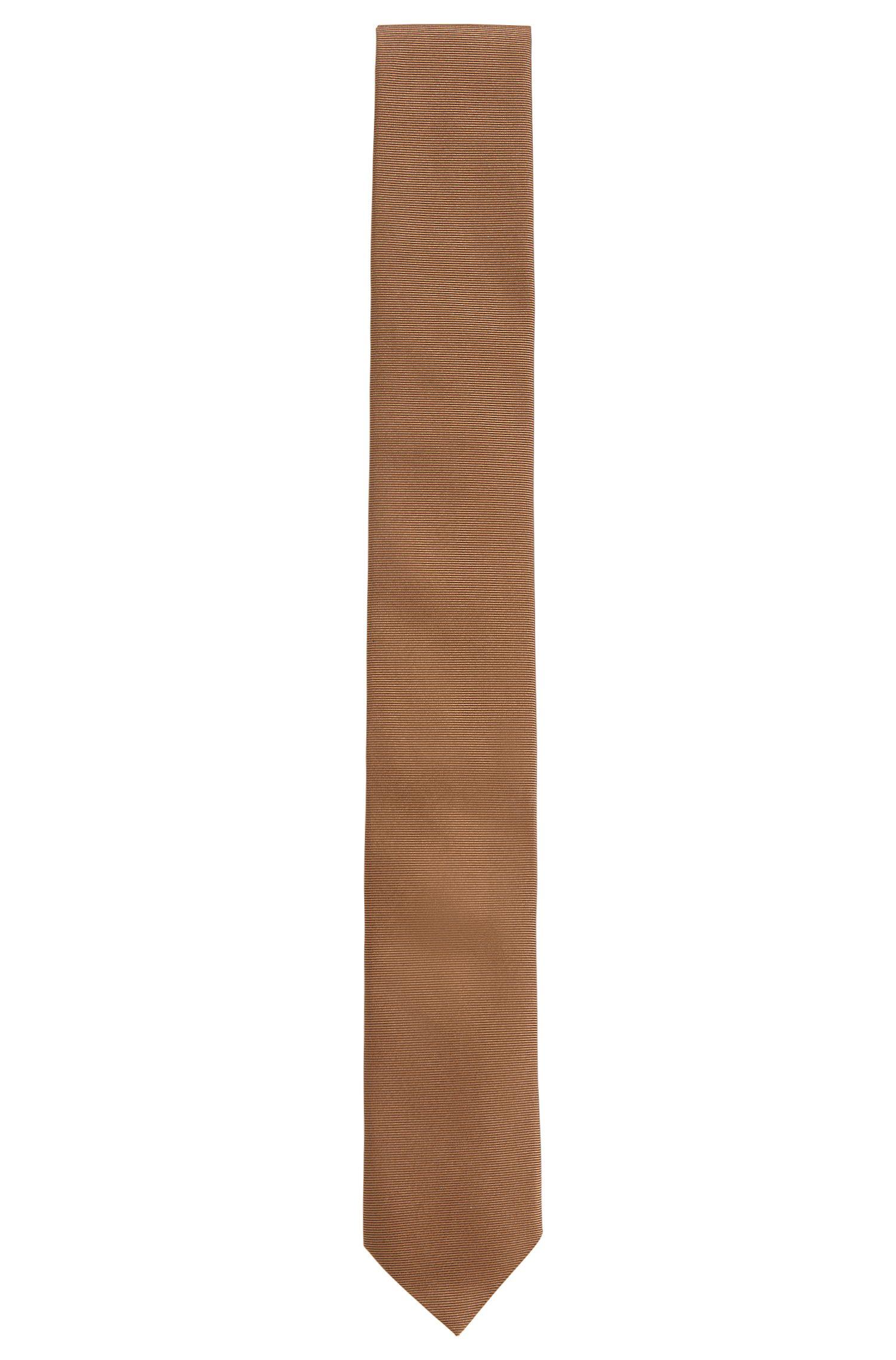 Cravate en sergé en pure soie Hugo Homme