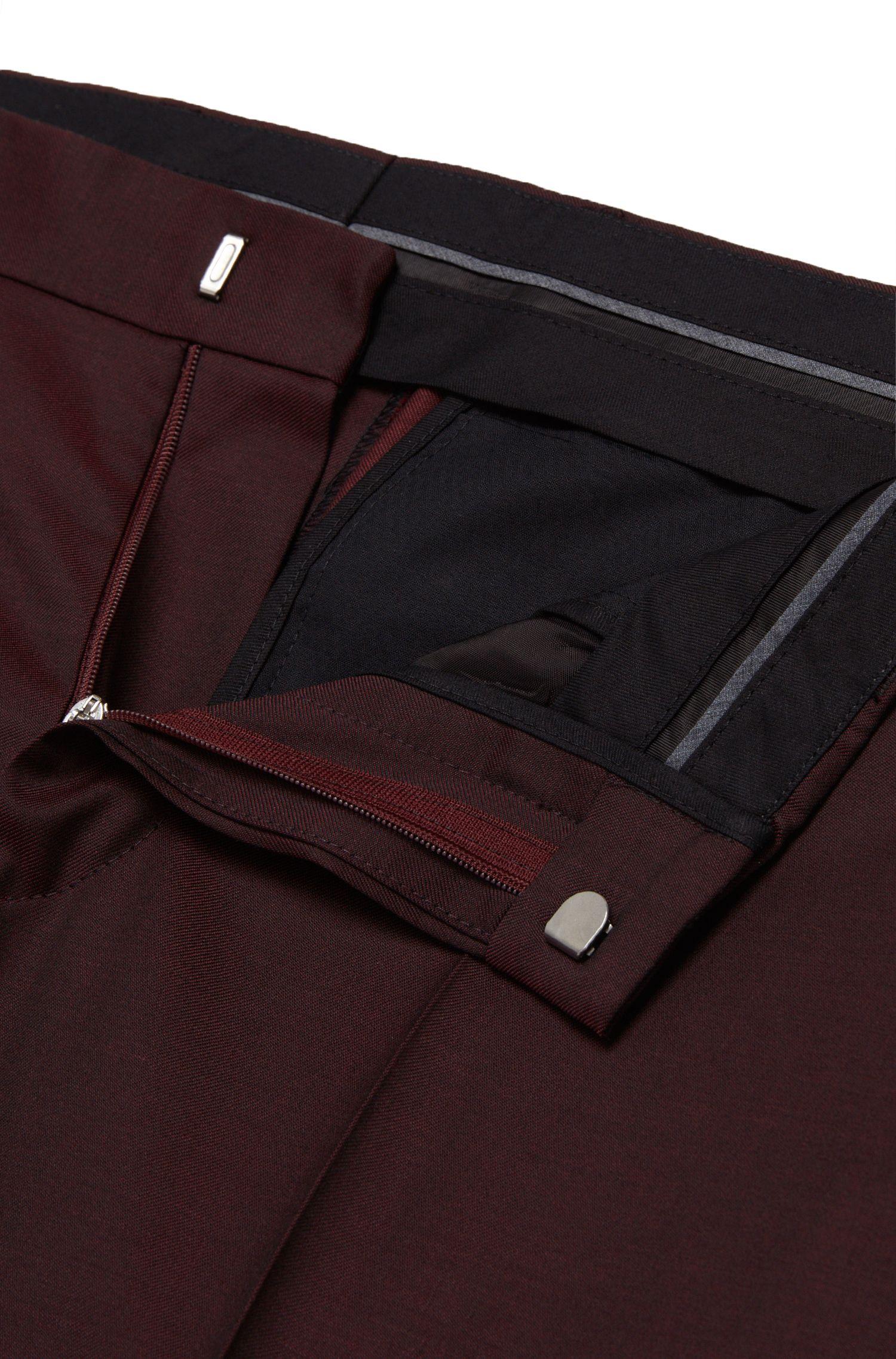 Pantalon Slim Fit en laine vierge: «Genesis2»
