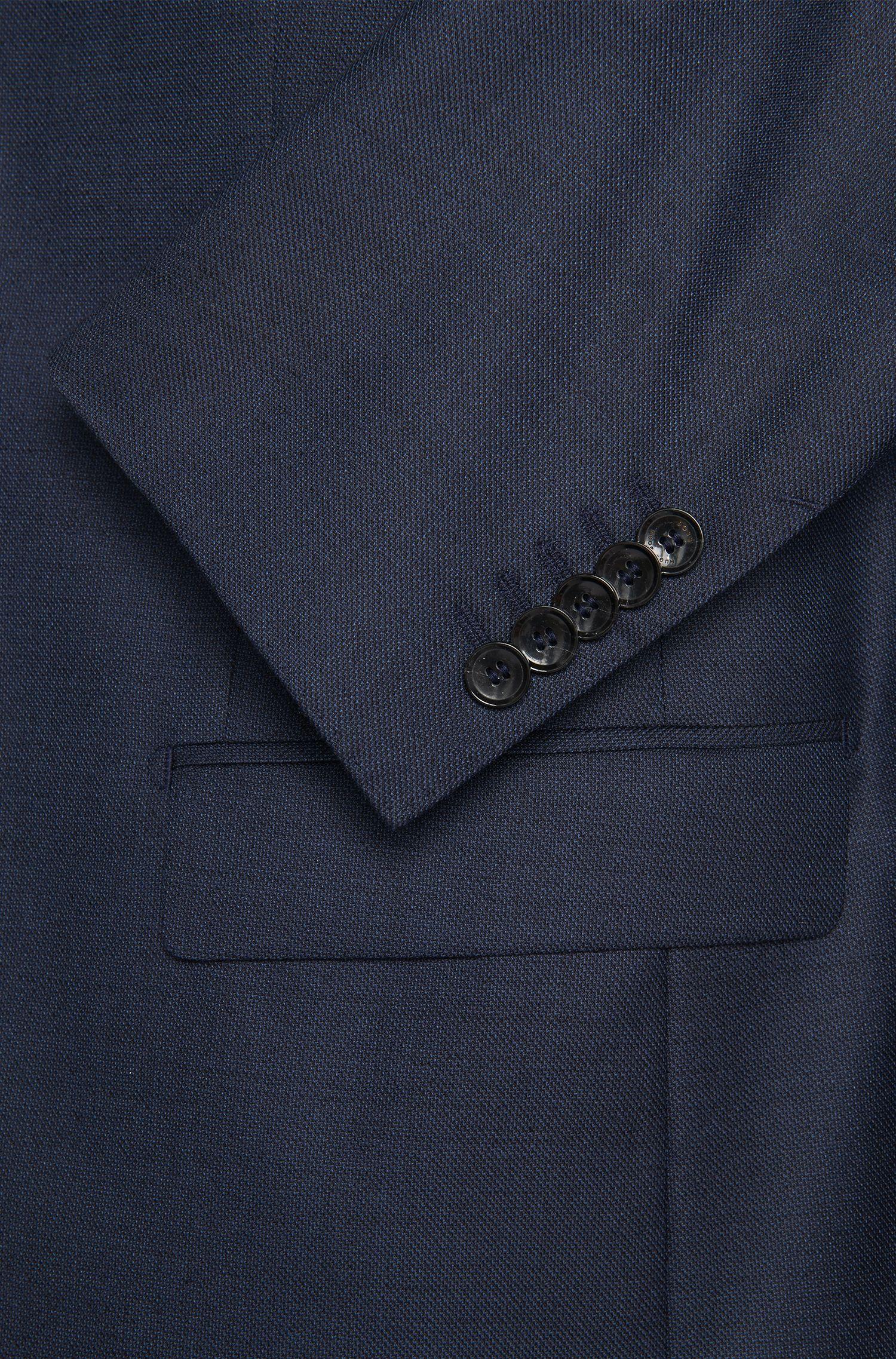 Slim-Fit Tailored Anzug aus Schurwoll-Mix mit Seide: 'T-Harvers2Glover1WE2'