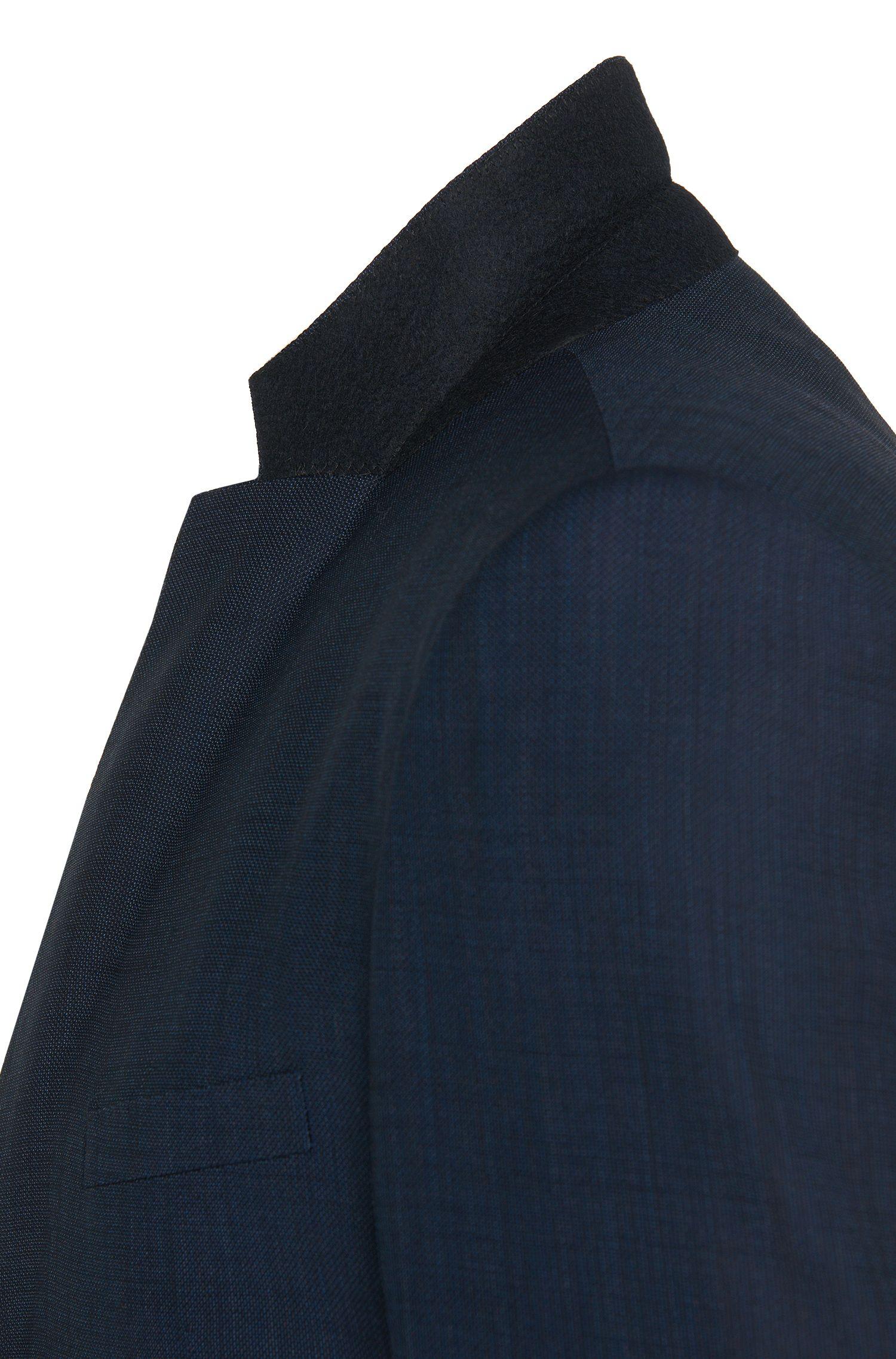 Extra Slim-Fit Anzug mit Weste aus Schurwoll-Mix mit Kaschmir: 'Redson/Wyatt WE'