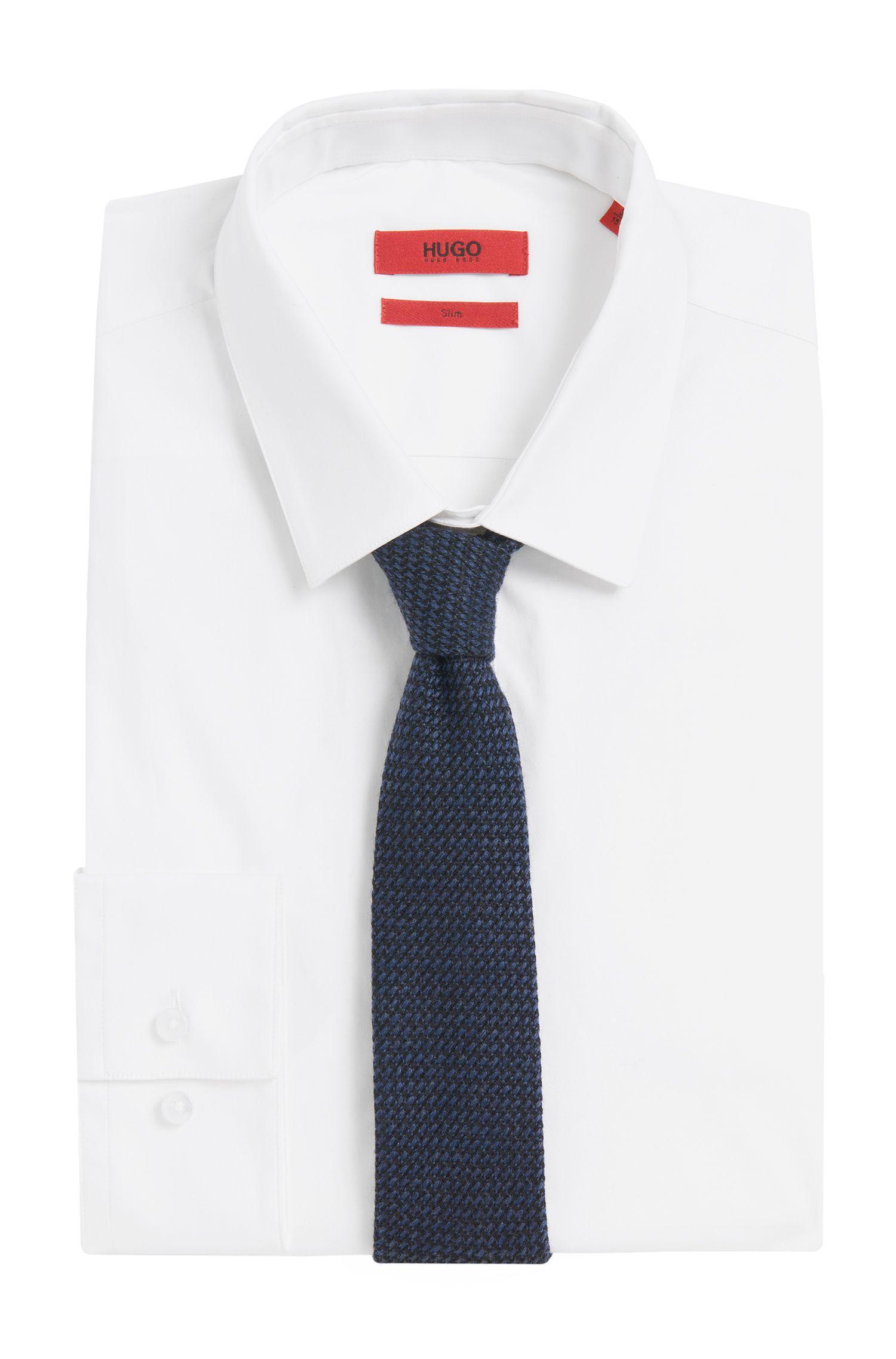 Cravate en pure laine: «Tie6cm»