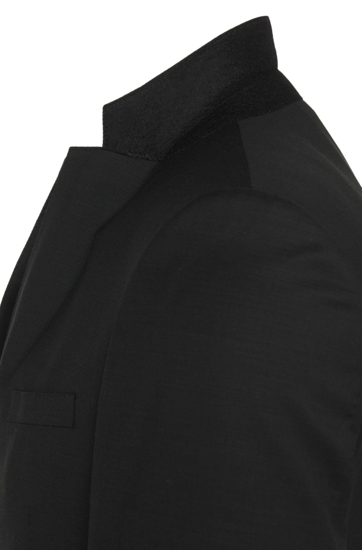Extra slim-fit kostuum van scheerwol met gilet: 'Redson/Wyatt WE'