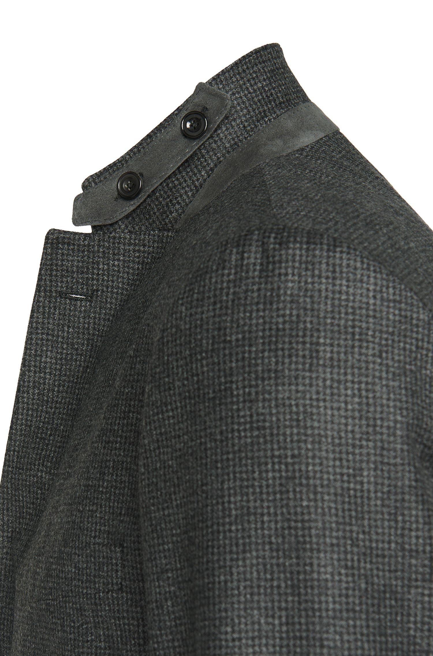 Veste de costume Regular Fit en laine vierge, avec coudières: «Jayson_1»