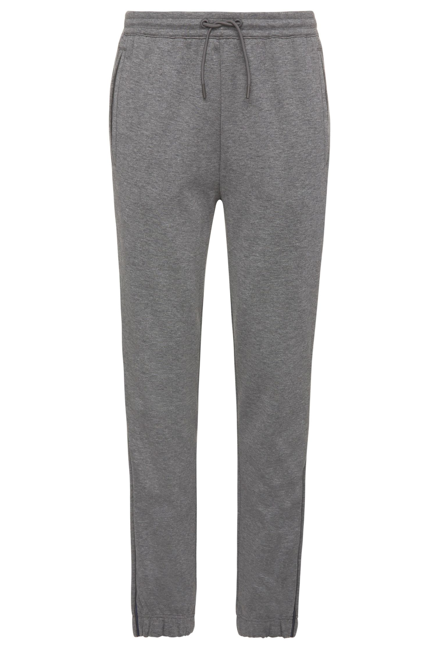 Pantaloni da jogging regular fit mélange in misto cotone: 'Hadiko'