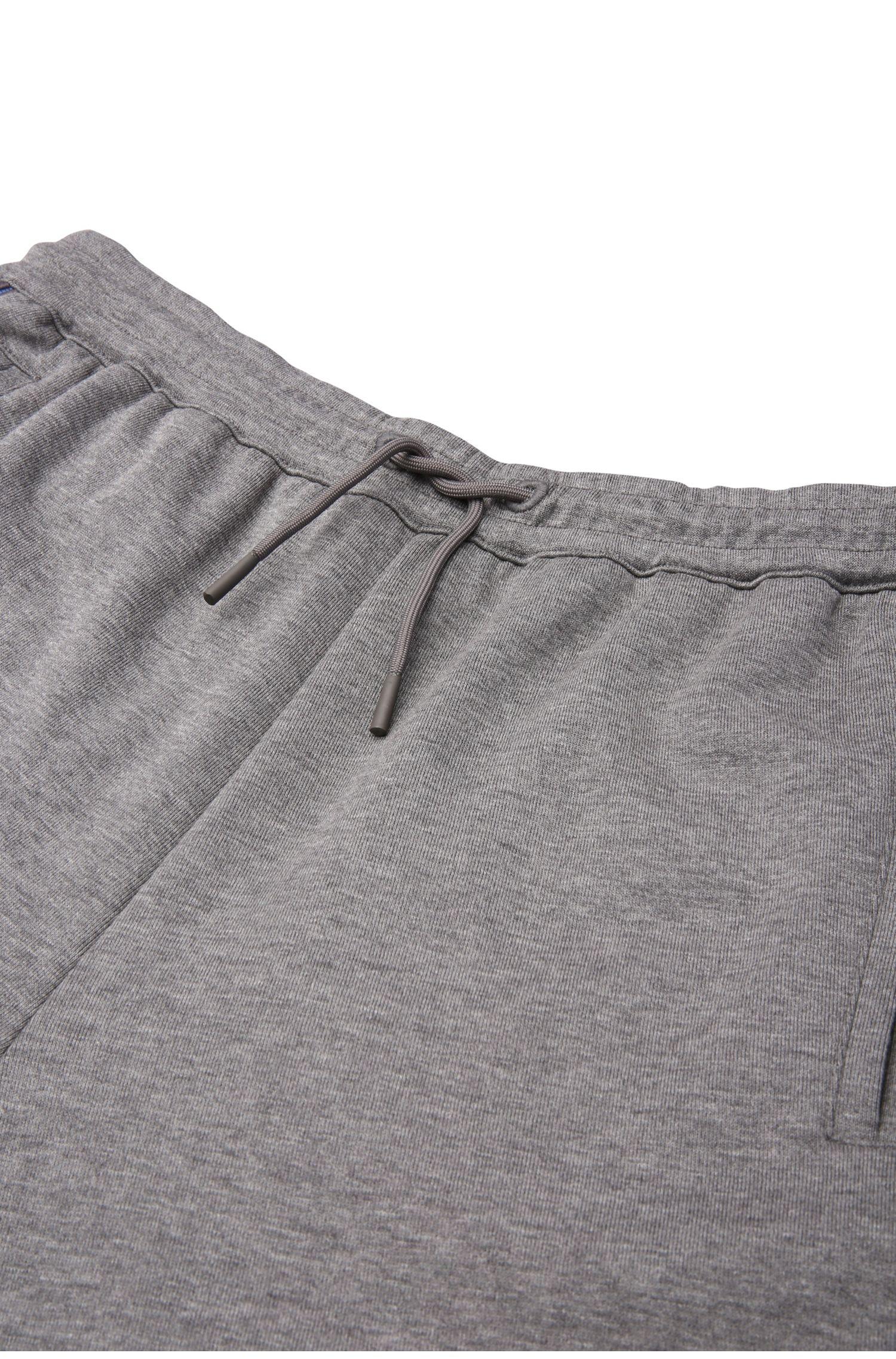 Pantalon de jogging Regular Fit en coton mélangé chiné: «Hadiko»