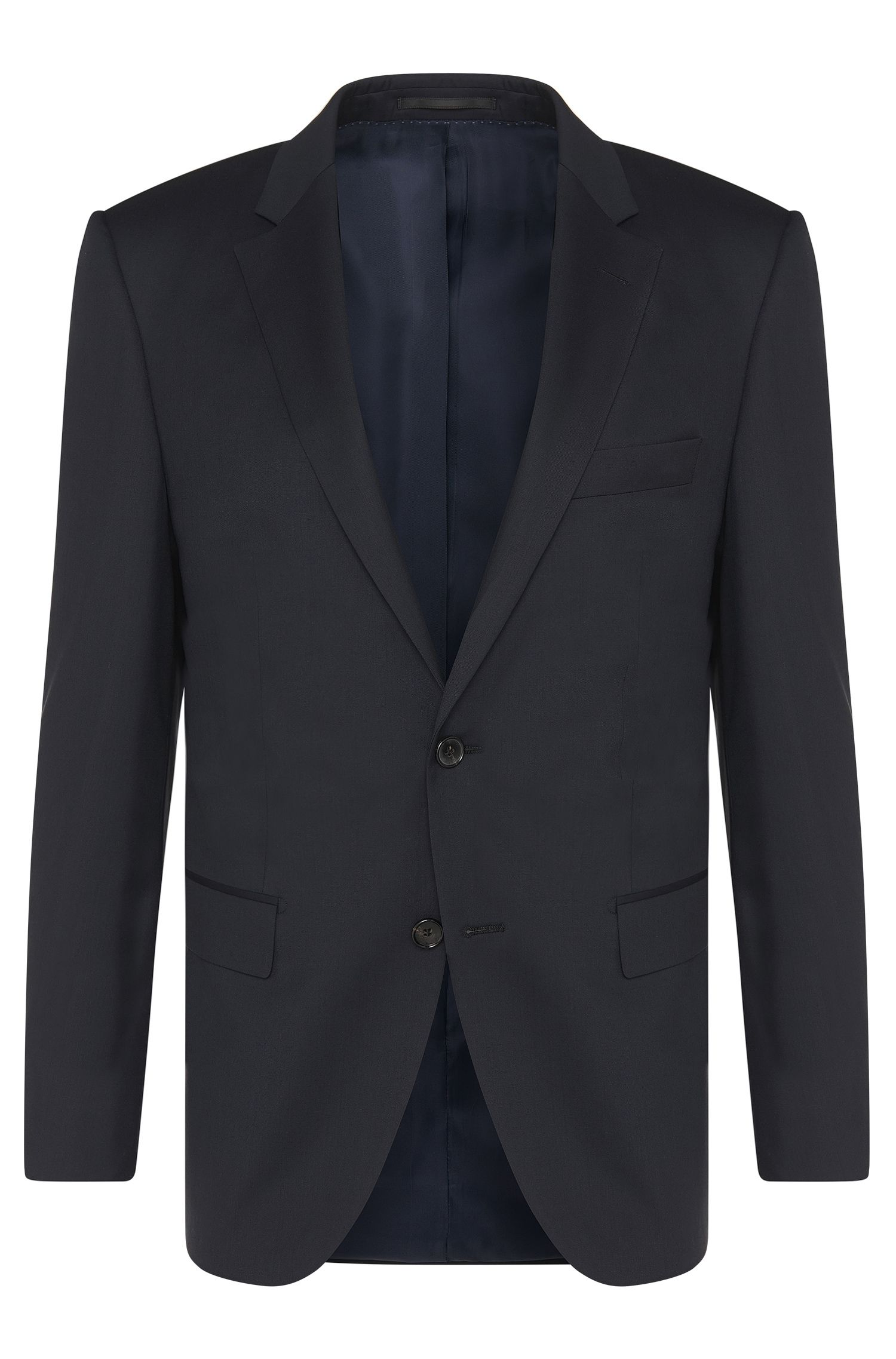 Veste de costume Regular Fit Tailored en laine vierge : « T-Howard4 »
